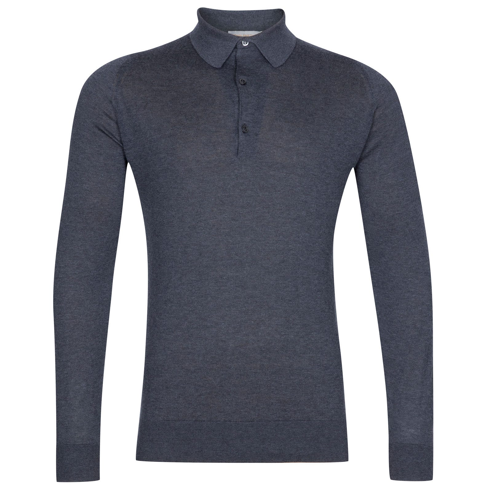John Smedley Lanlay Sea Island Cotton and Cashmere Shirt in