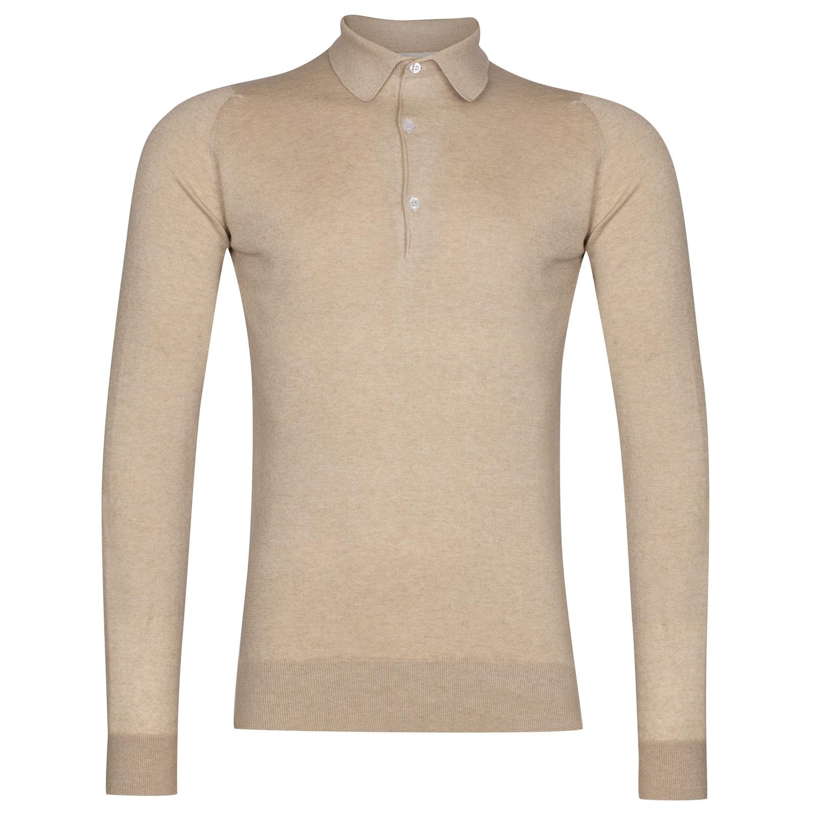 John Smedley Lanlay in Sandstone Shirt-XLG