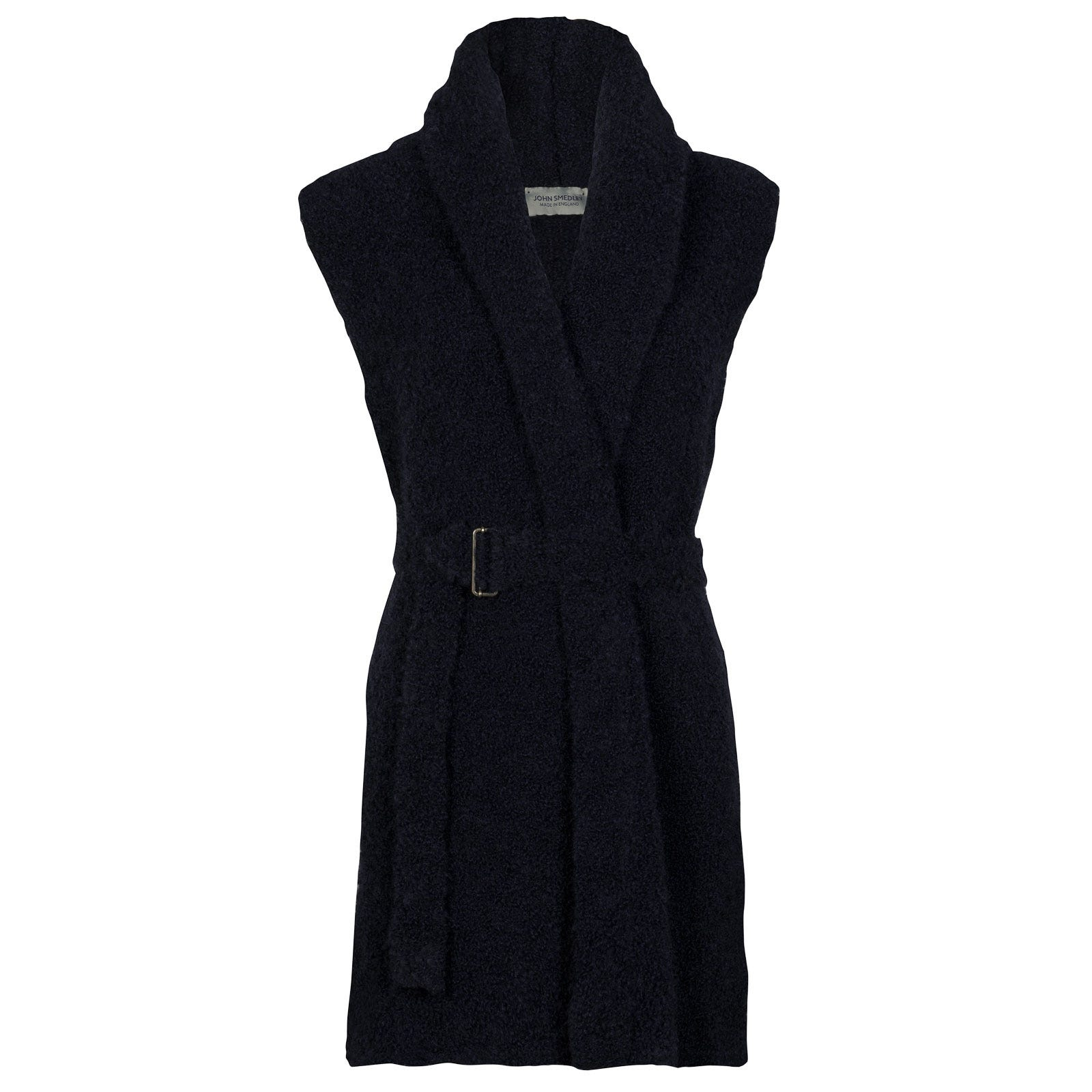 John Smedley Lomond Alpaca & Wool Jacket in Midnight-L