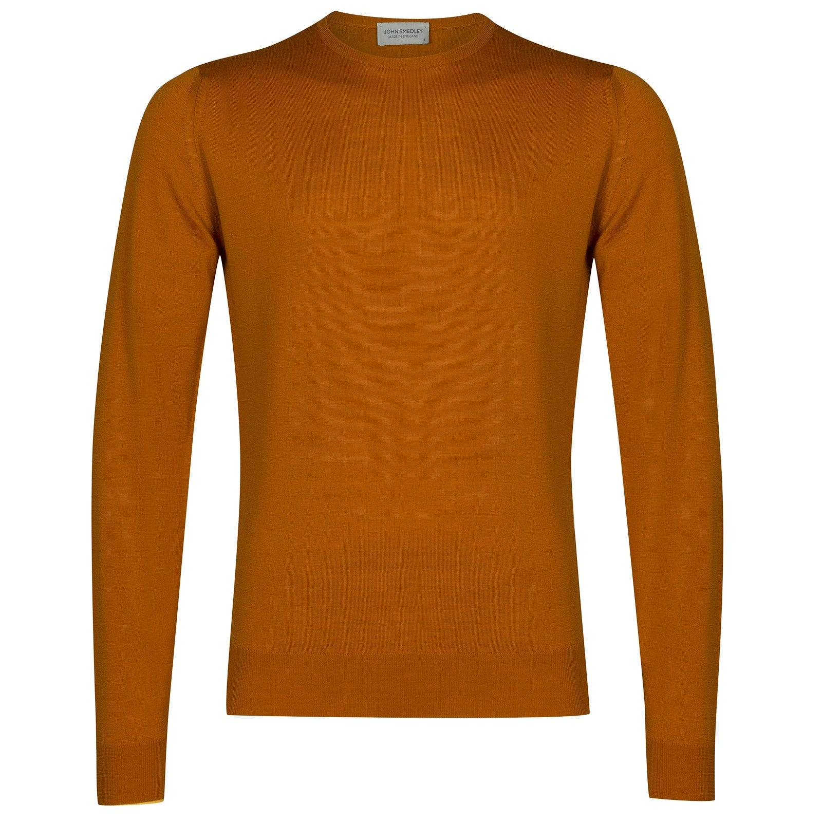John Smedley Lundy Merino Wool Pullover in Bronze-XL