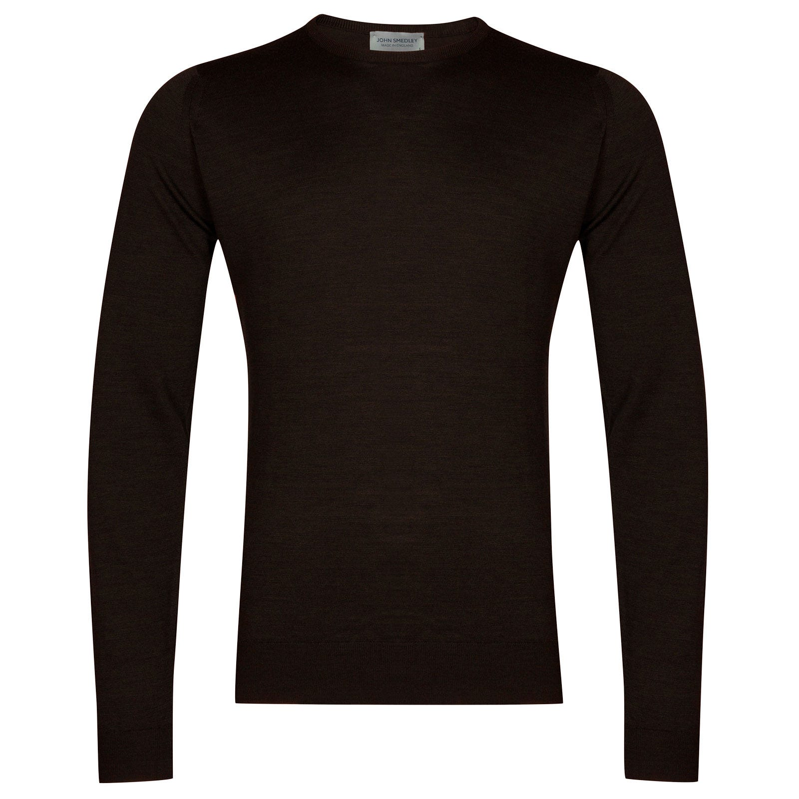 John Smedley lundy Merino Wool Pullover in Chestnut-S