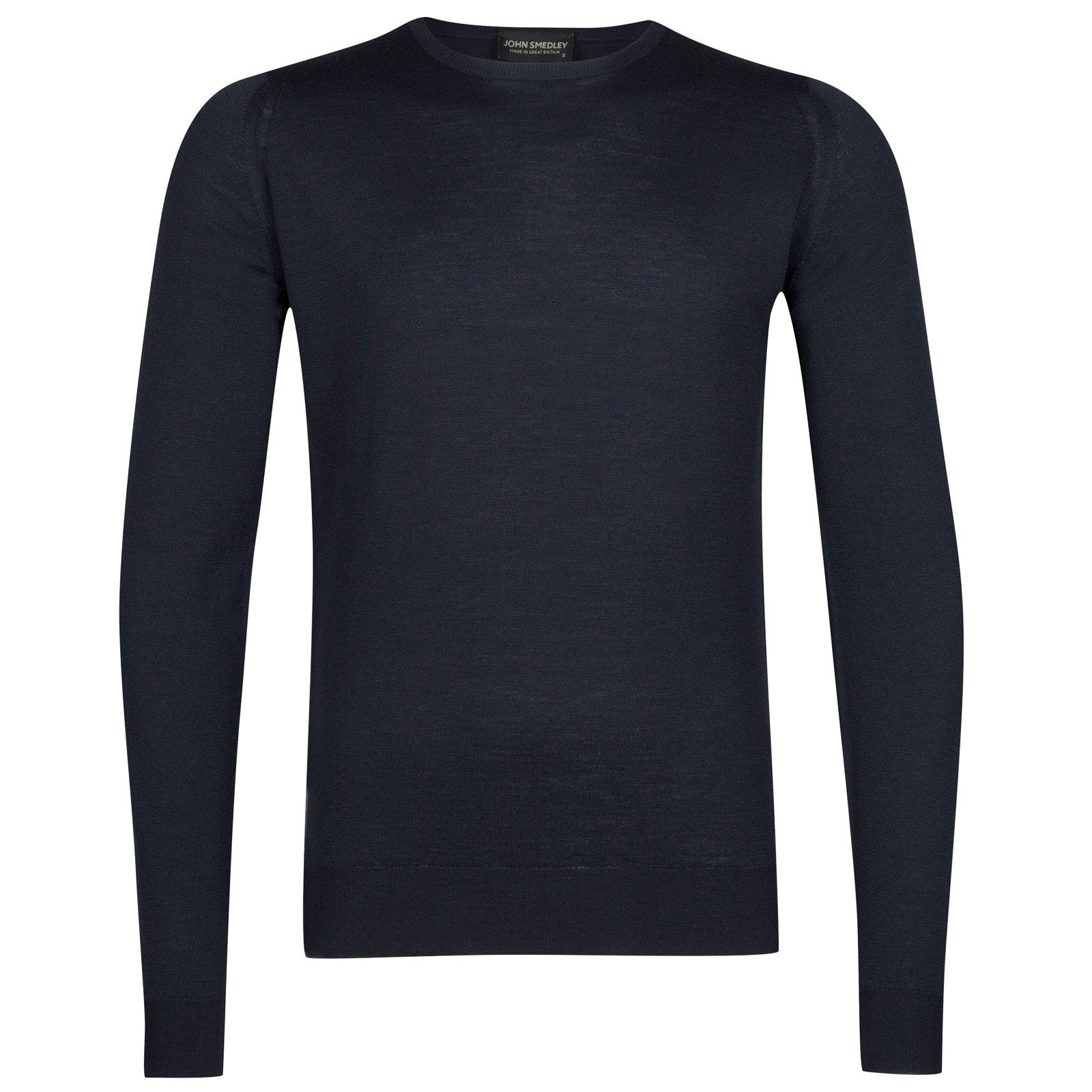 John Smedley lundy Merino Wool Pullover in Midnight-XL
