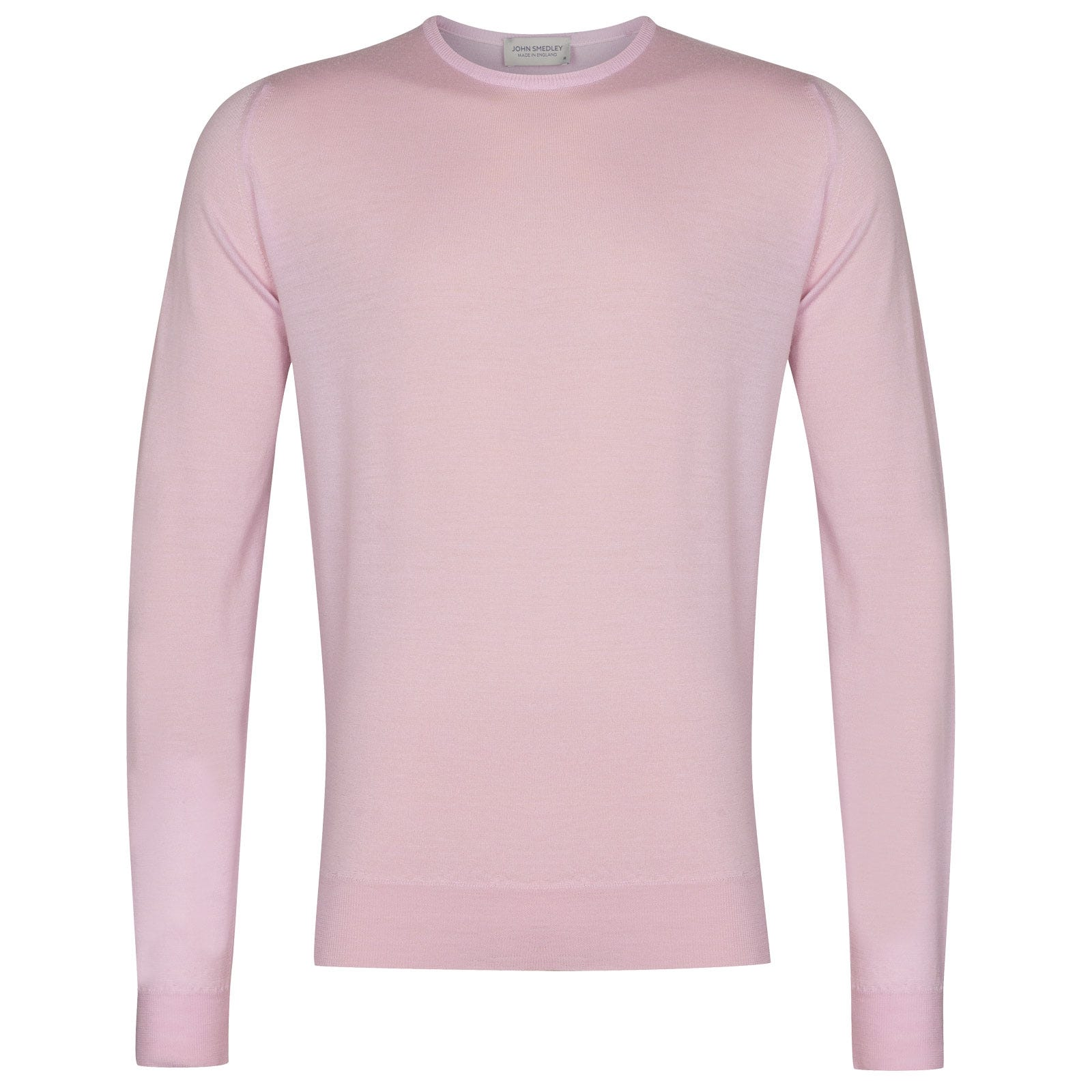 John Smedley Lundy in Pink Blossom Pullover-XLG