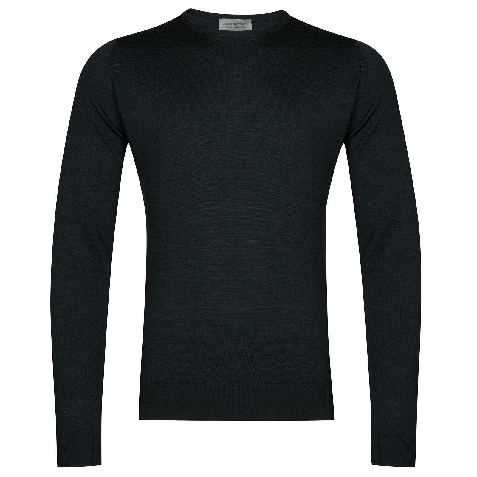 John Smedley Lundy Merino Wool Pullover in Racing Green-XL