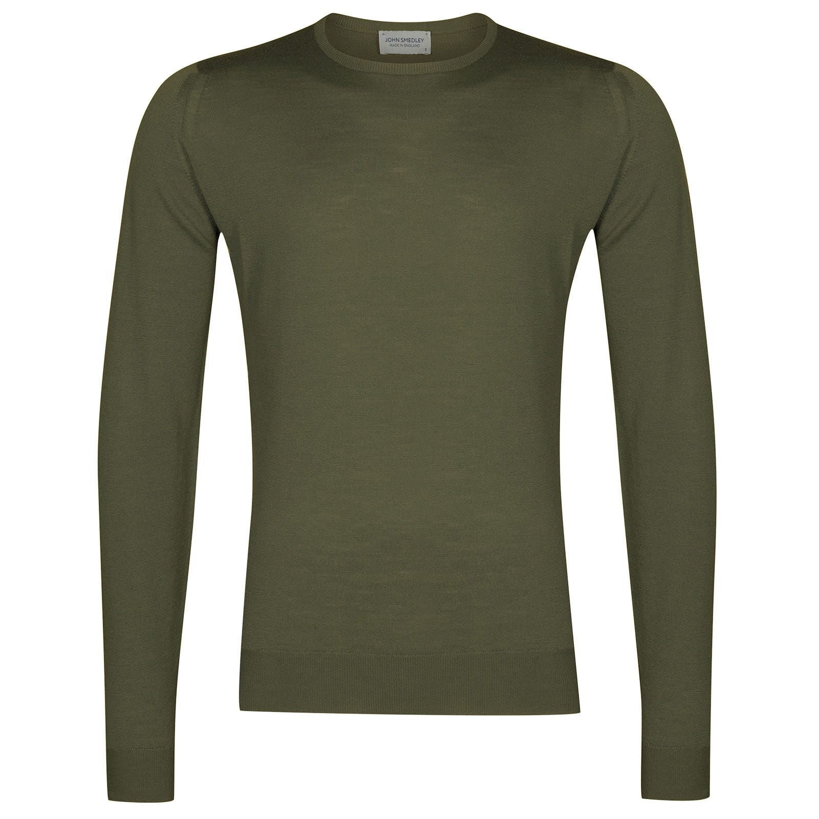 John Smedley Lundy in Sepal Green Pullover-MED