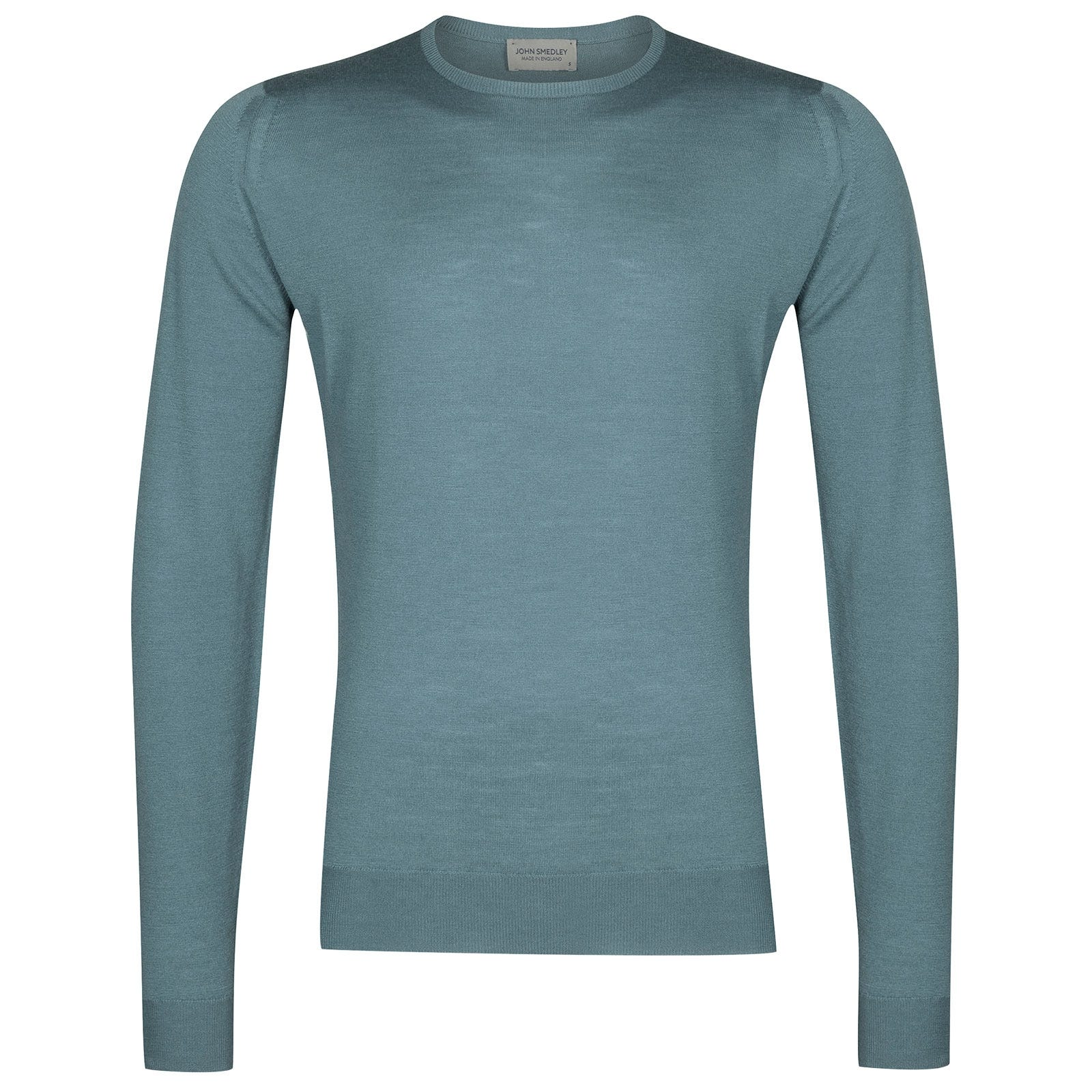 John Smedley lundy Merino Wool Pullover in Summit Blue-XL