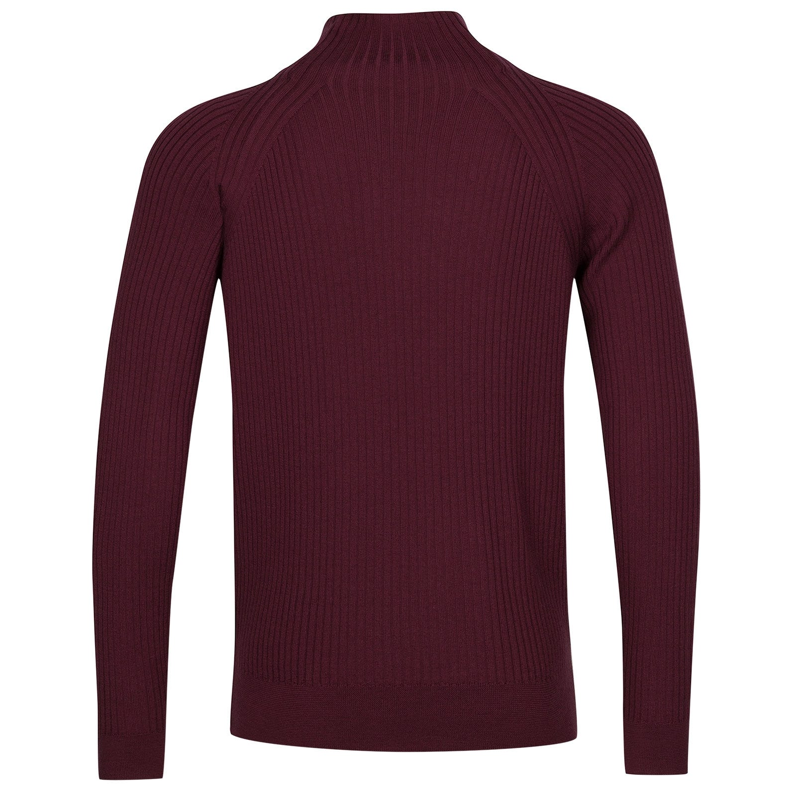 John Smedley Magnet Extra Fine Merino Wool Pullover in Bordeaux-S