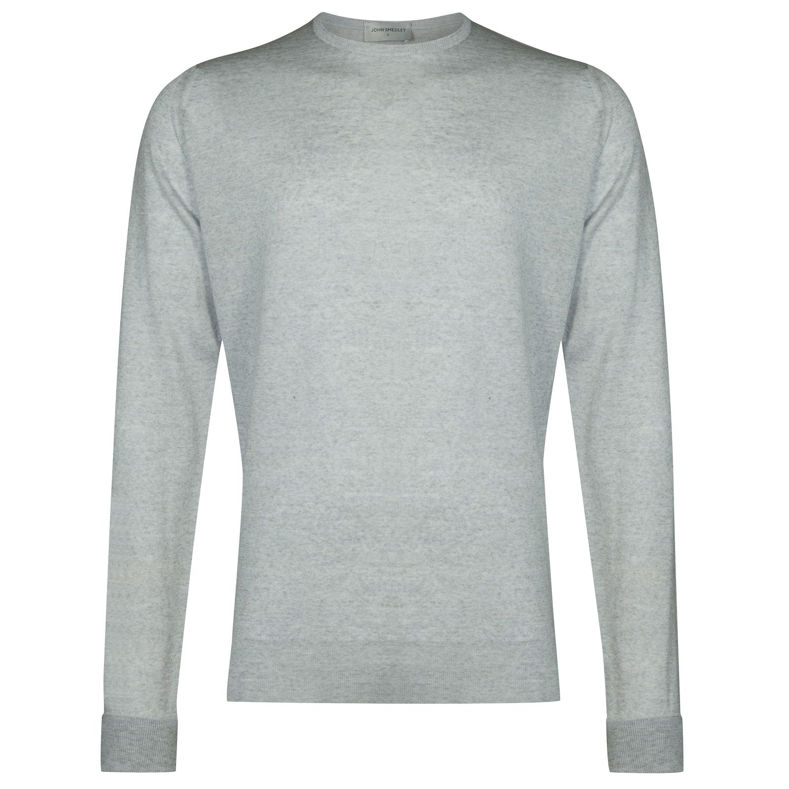 John Smedley marcus Merino Wool Pullover in Bardot Grey-S