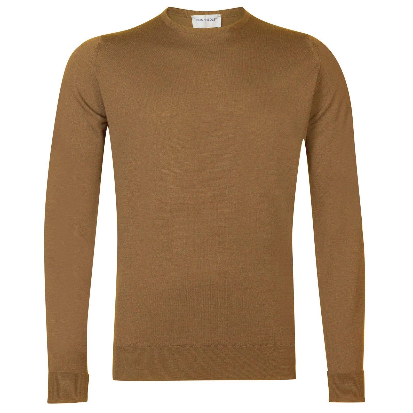 John Smedley marcus Merino Wool Pullover in Camel-S