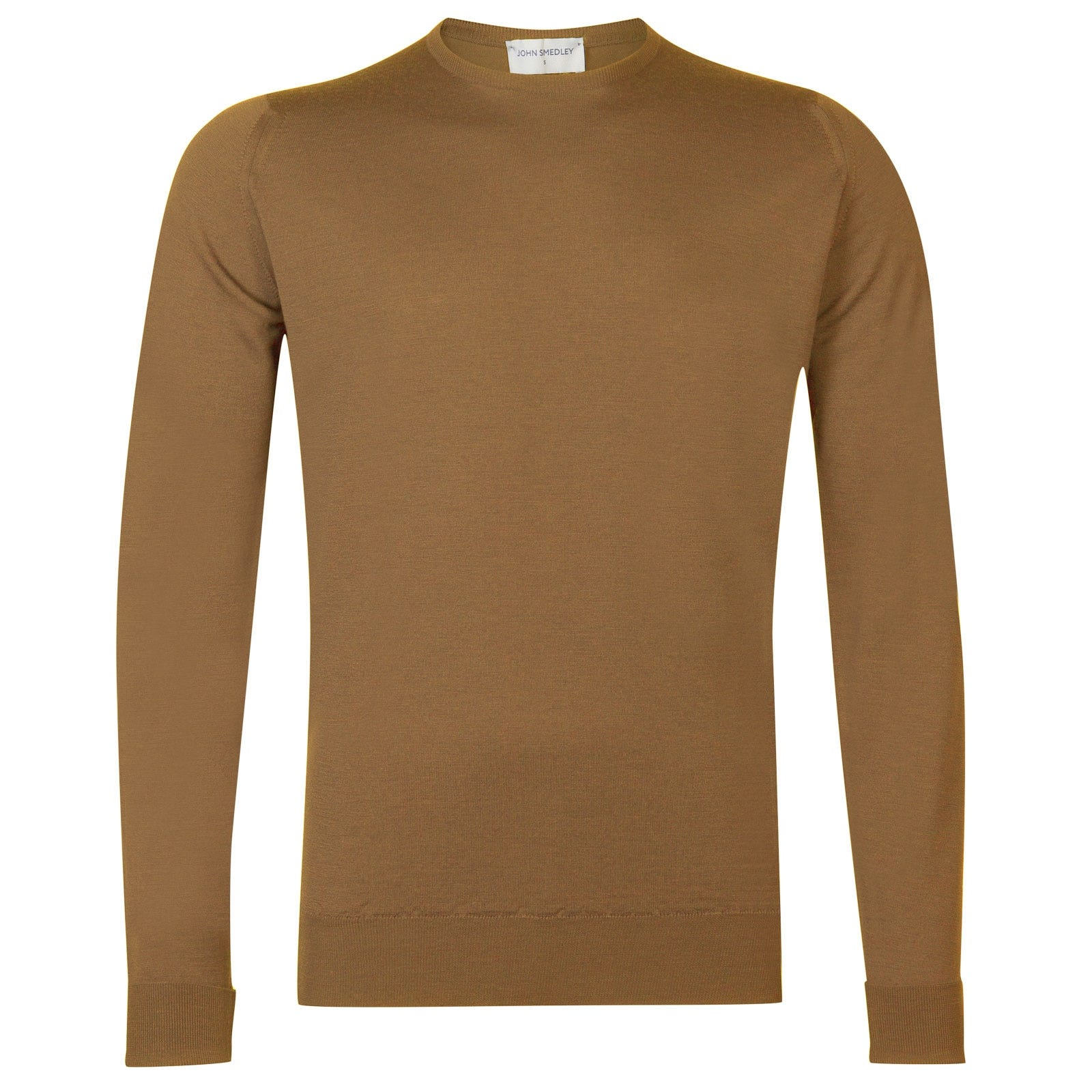John Smedley Marcus in Camel Pullover-XLG