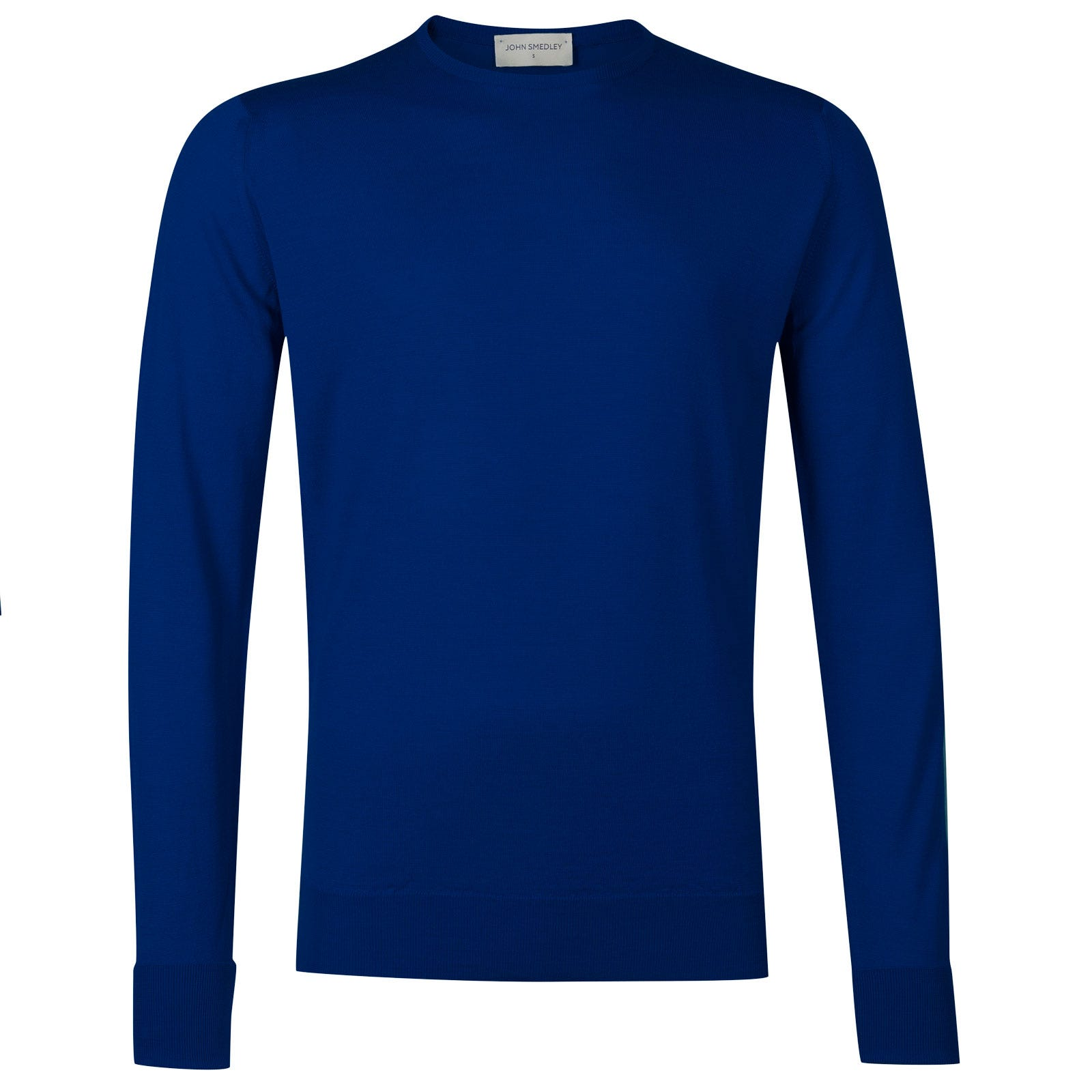John Smedley marcus Merino Wool Pullover in Coniston Blue-XL