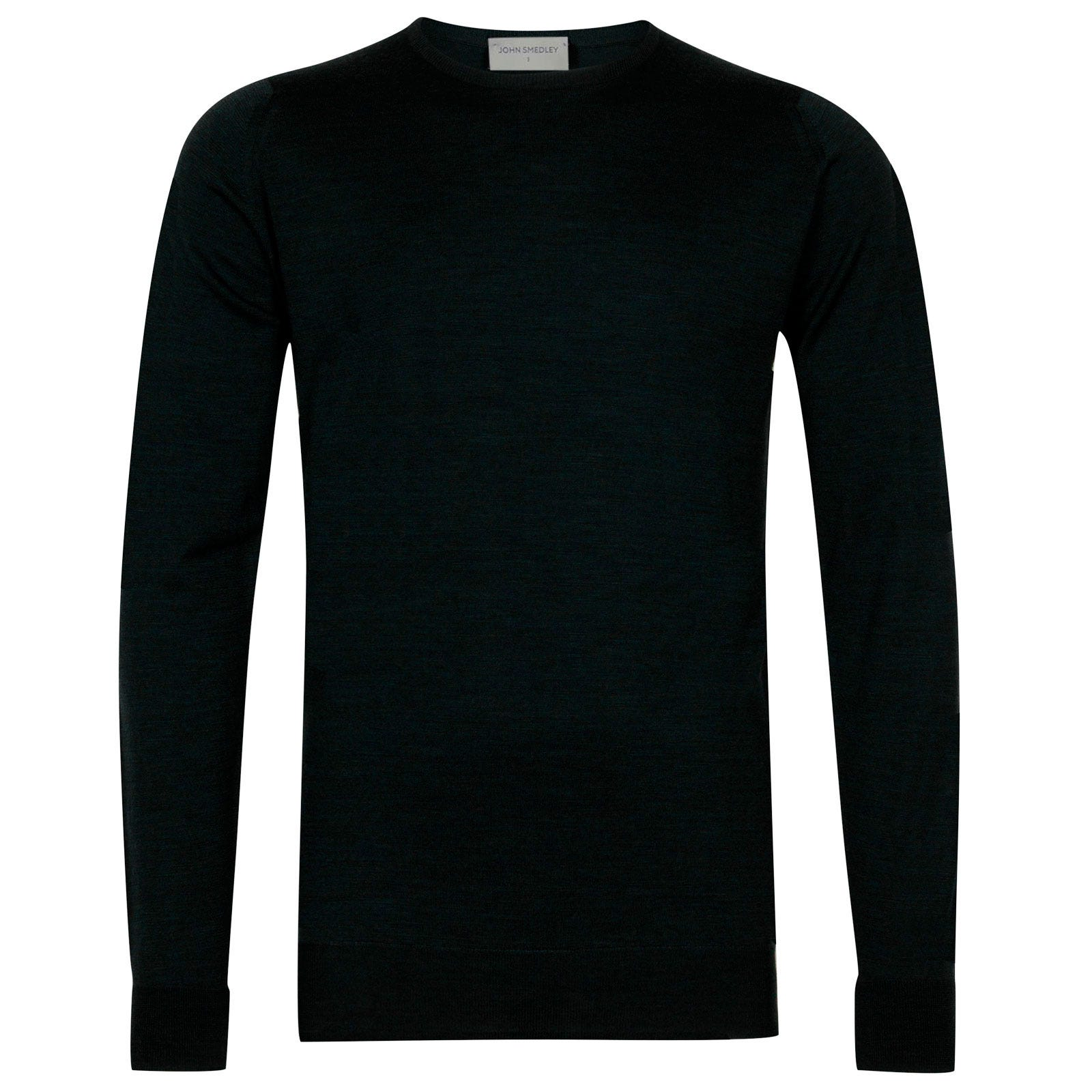 John Smedley marcus Merino Wool Pullover in Racing Green-M