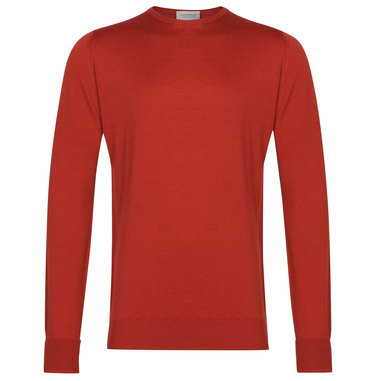 John Smedley Marcus in Red Admiral Pullover-MED