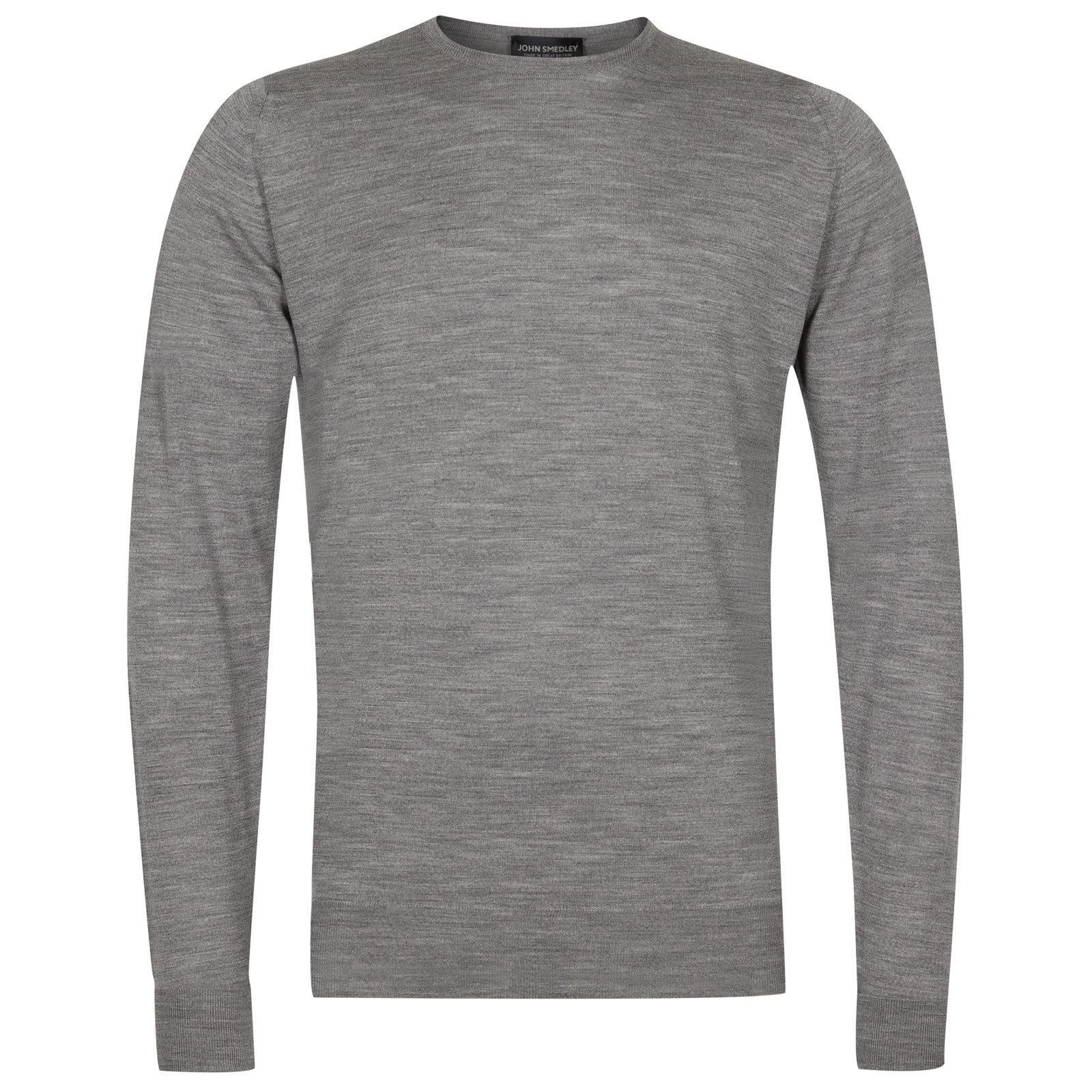 John Smedley marcus Merino Wool Pullover in Silver-XS