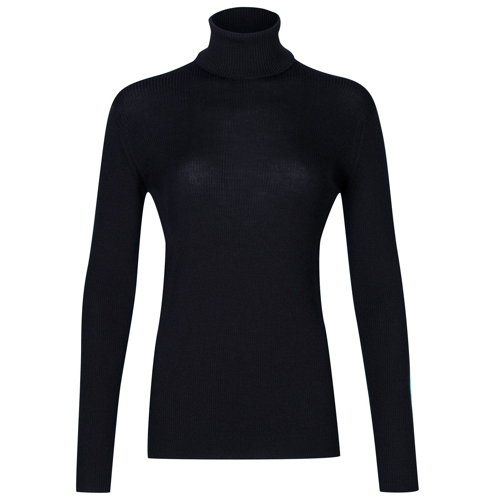 John Smedley massey Merino Wool Sweater in Midnight-XL
