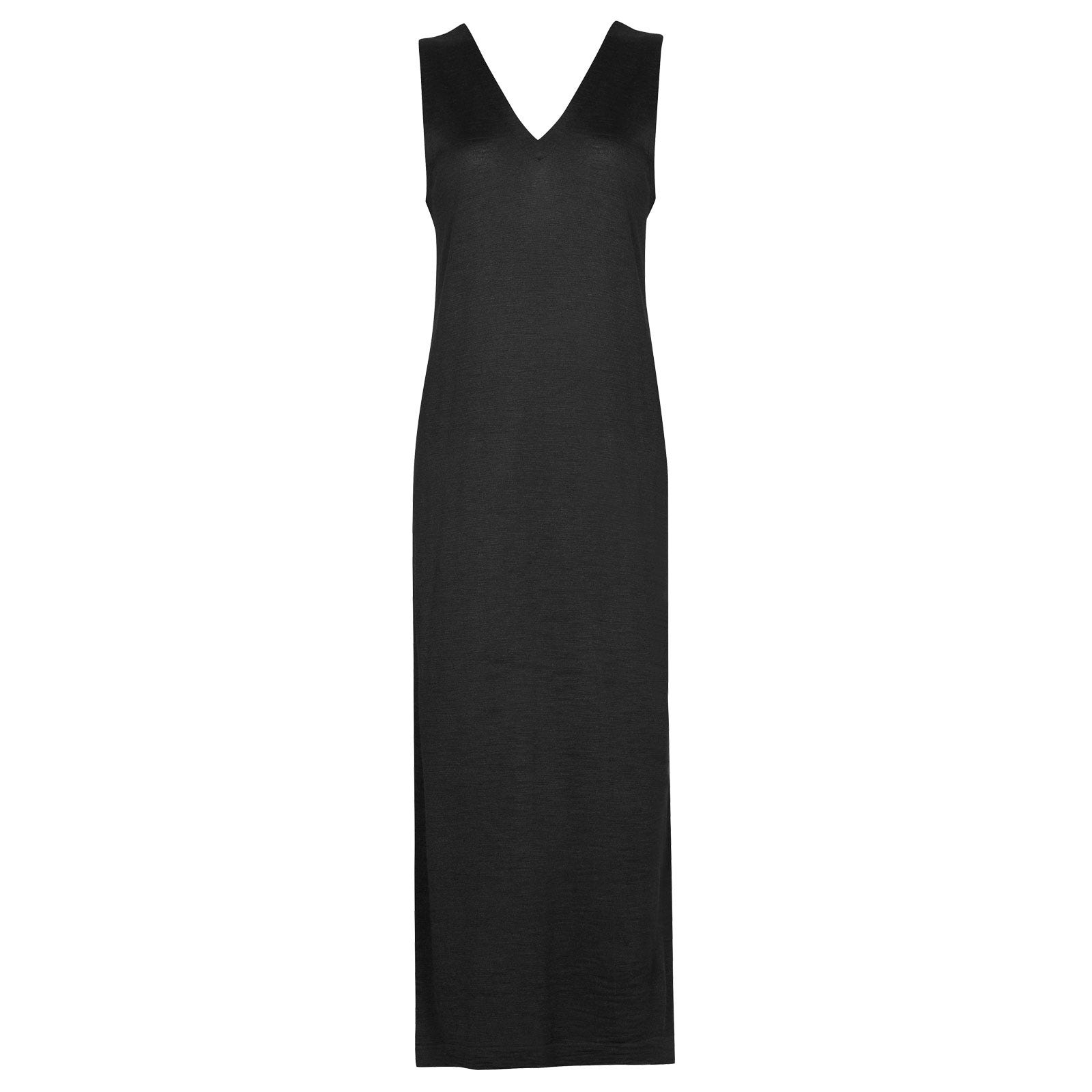 John Smedley Mila in Black Dress-xsm
