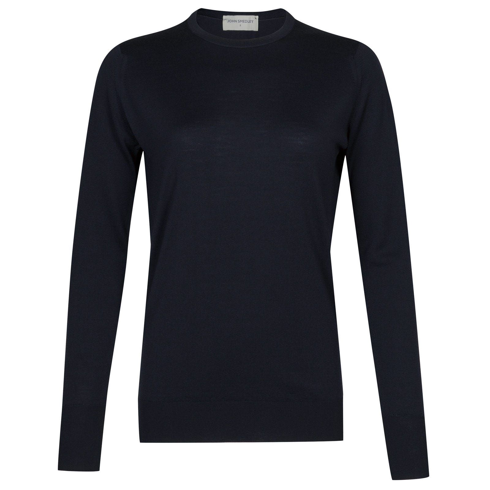 John Smedley Mitzi Merino Wool Sweater in Midnight-XL