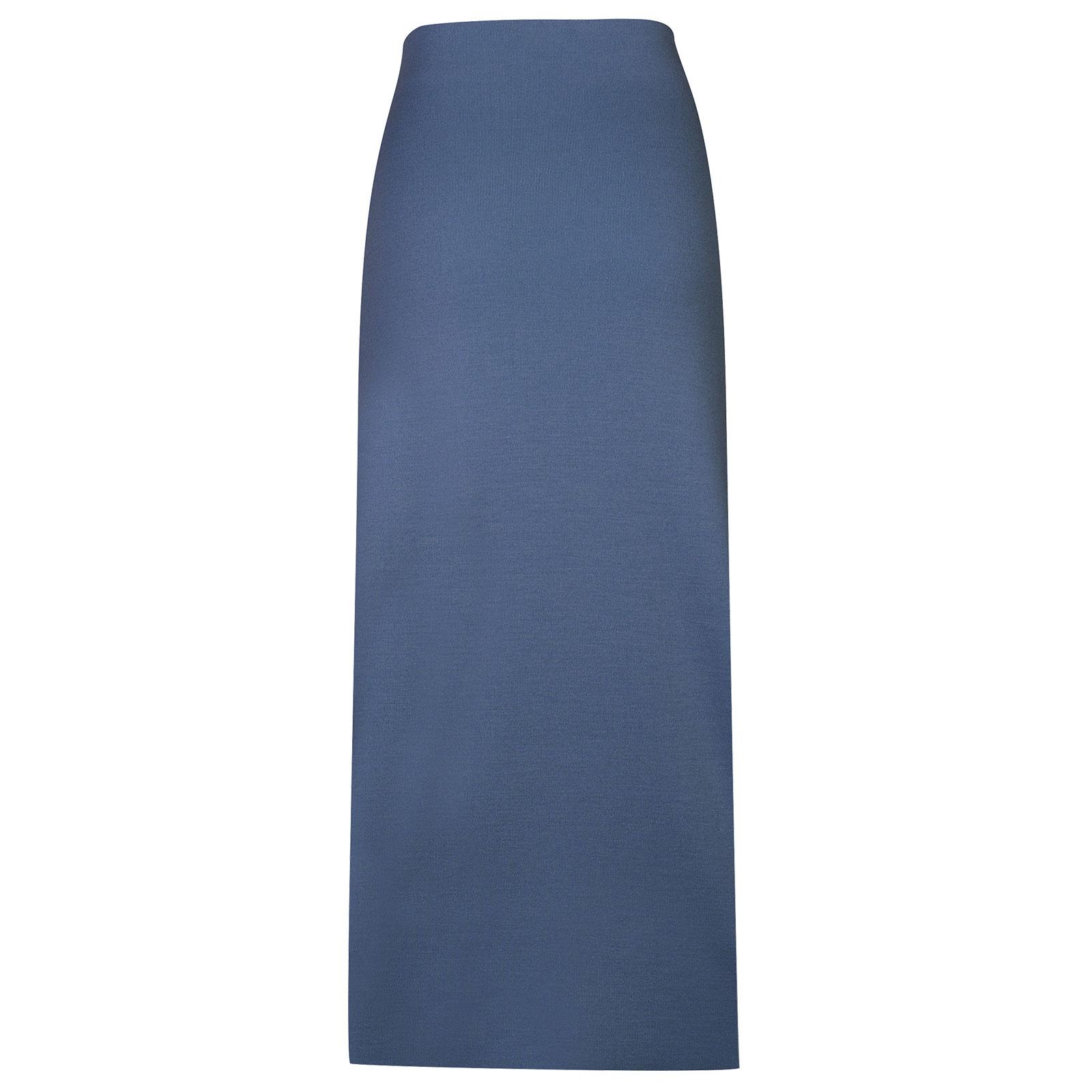 John Smedley moran in Blue Iris John Smedley Skirt-LGE