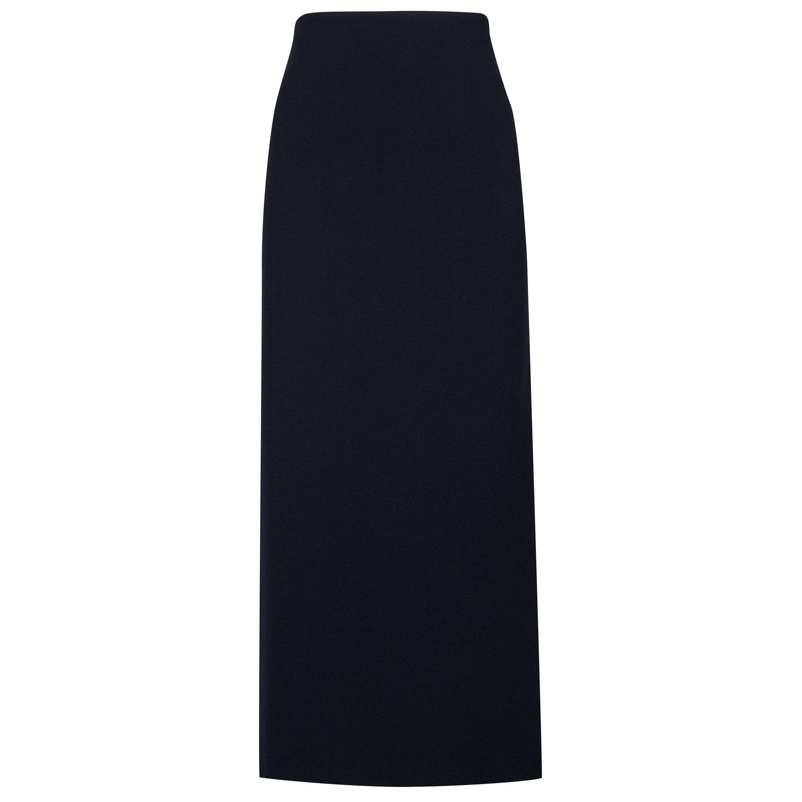 John Smedley moran Merino Wool Skirt in Midnight-L
