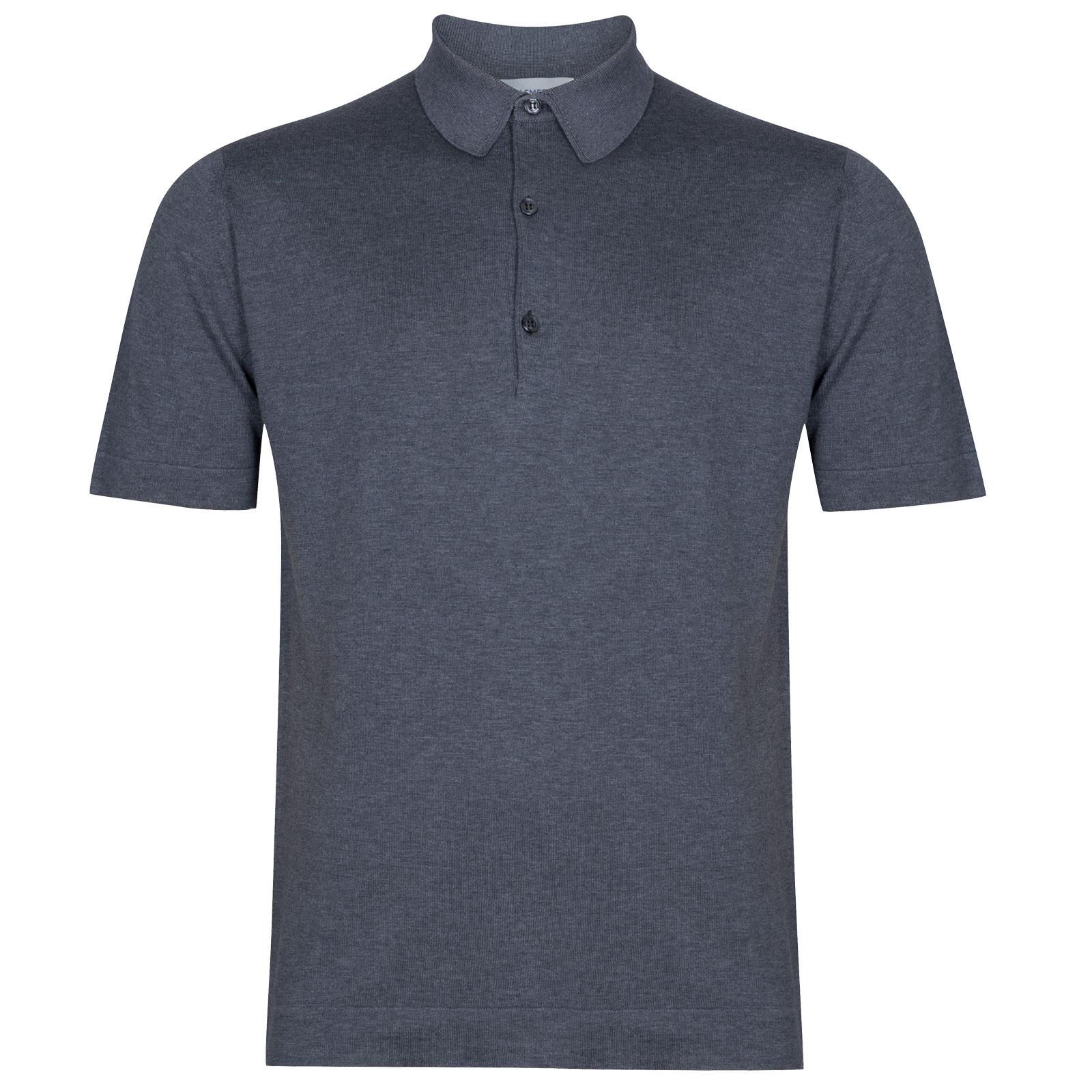John Smedley Mycroft in Charcoal Shirt-LGE