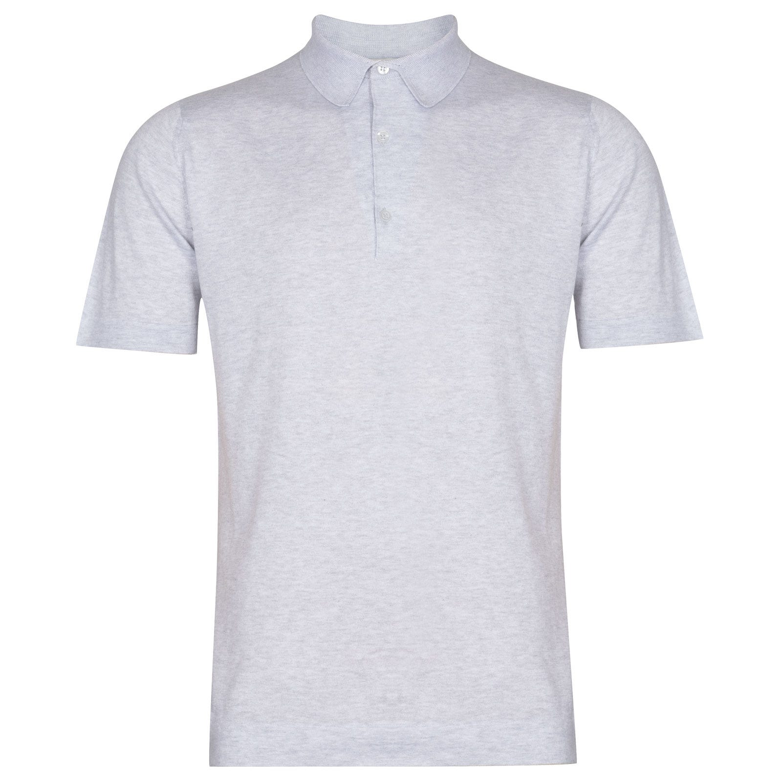 John Smedley Mycroft in Feather Grey Shirt-XLG