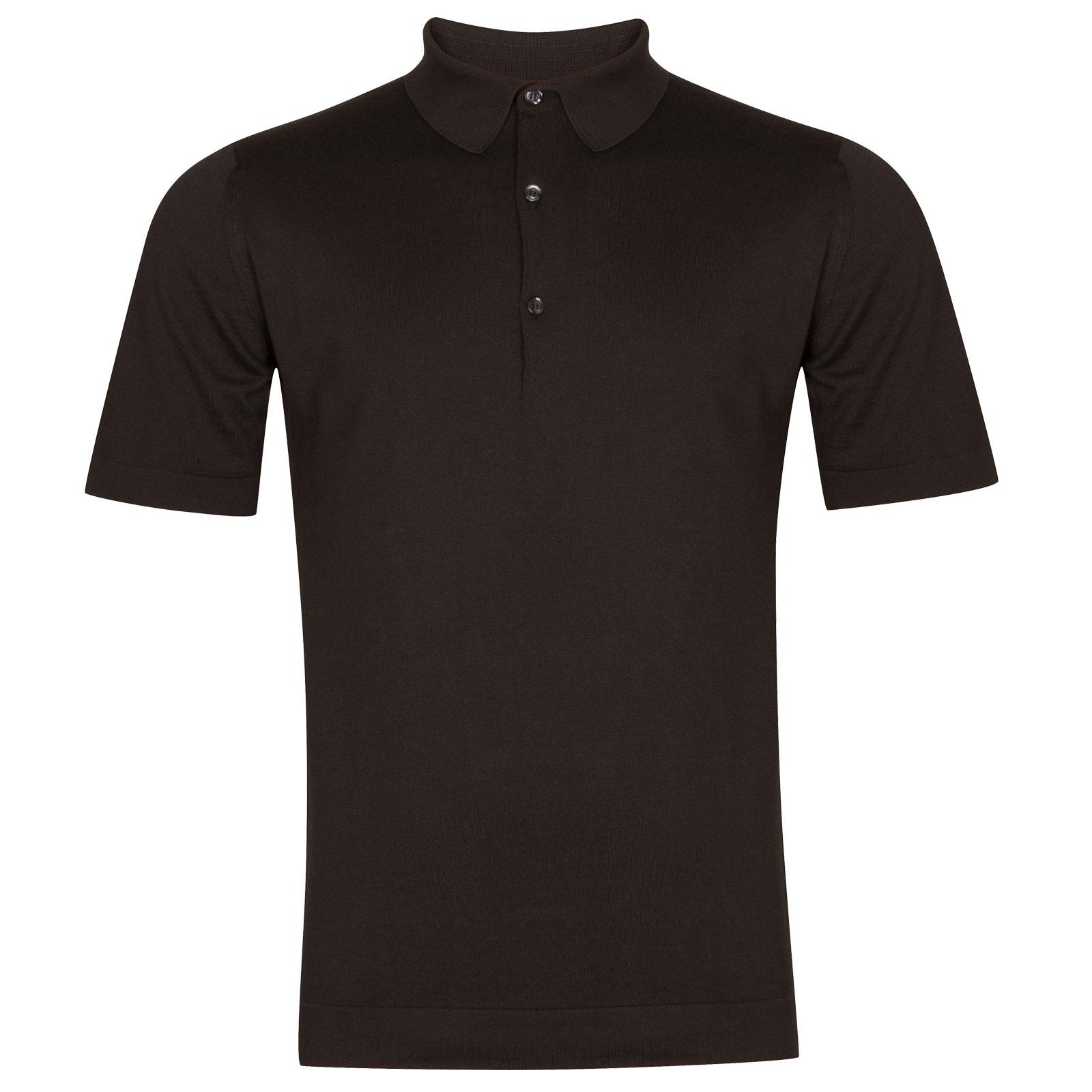John Smedley Mycroft in Flannel Grey Shirt-XXL