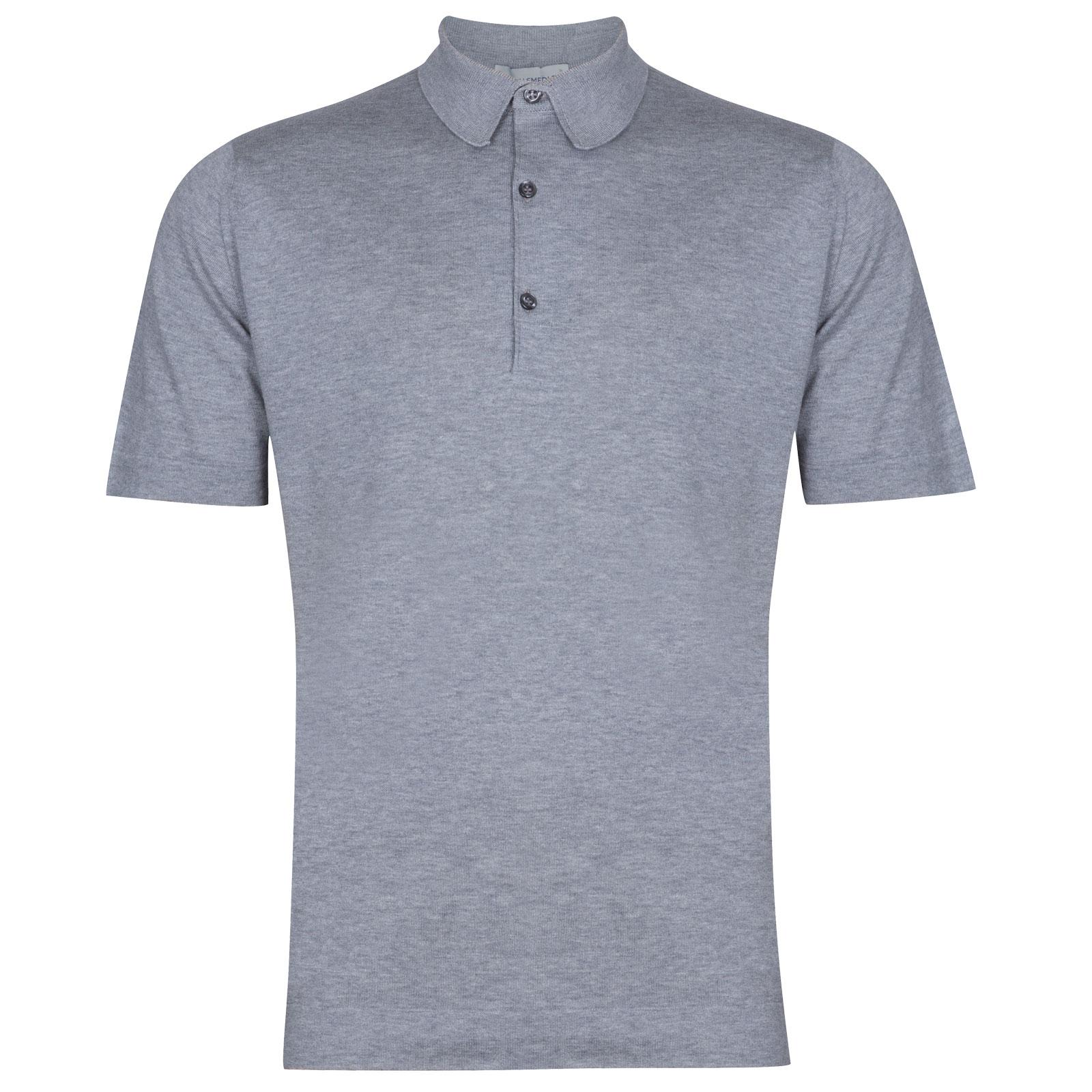John Smedley Mycroft in Silver Shirt-XLG