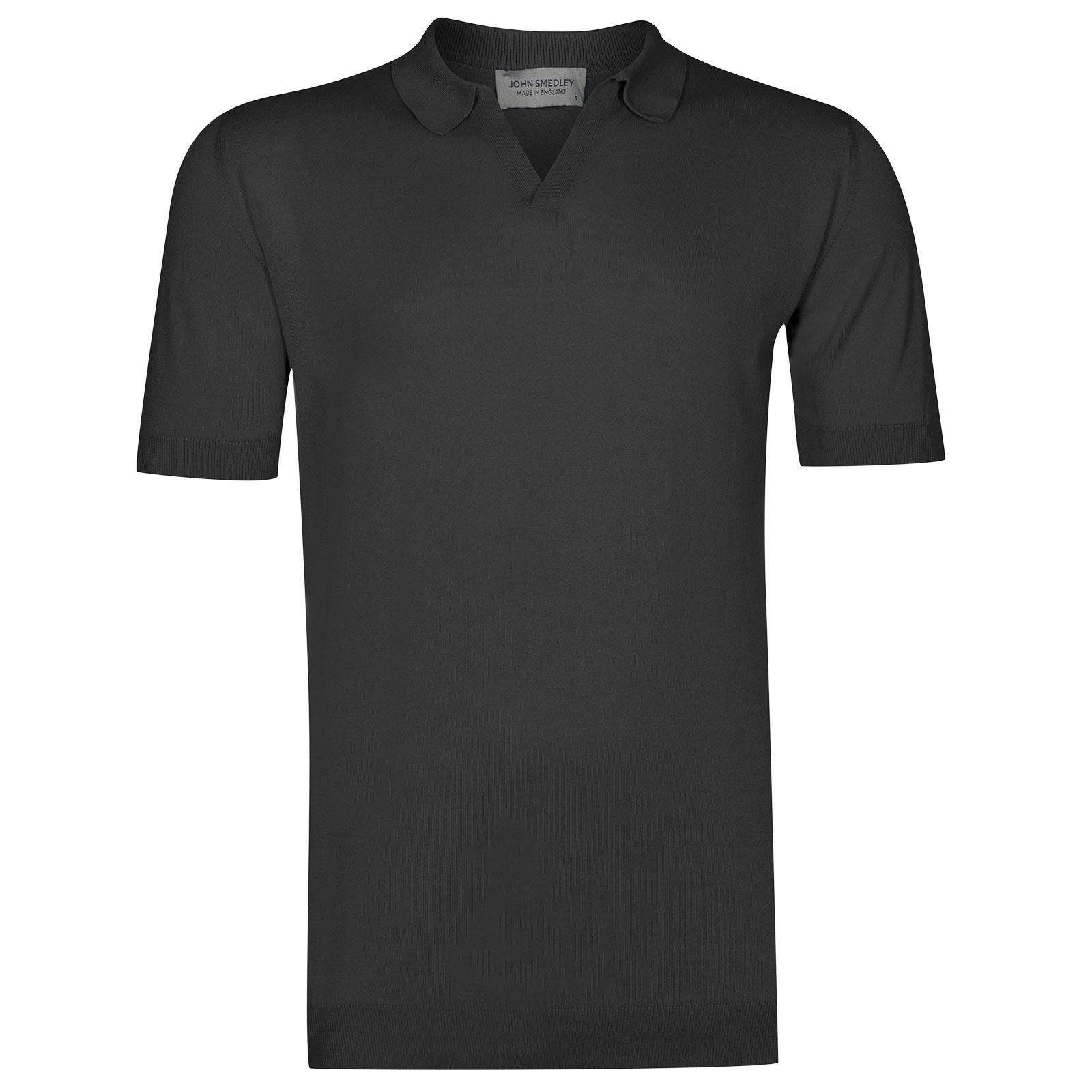 John Smedley Noah in Flannel Grey Shirt-LGE