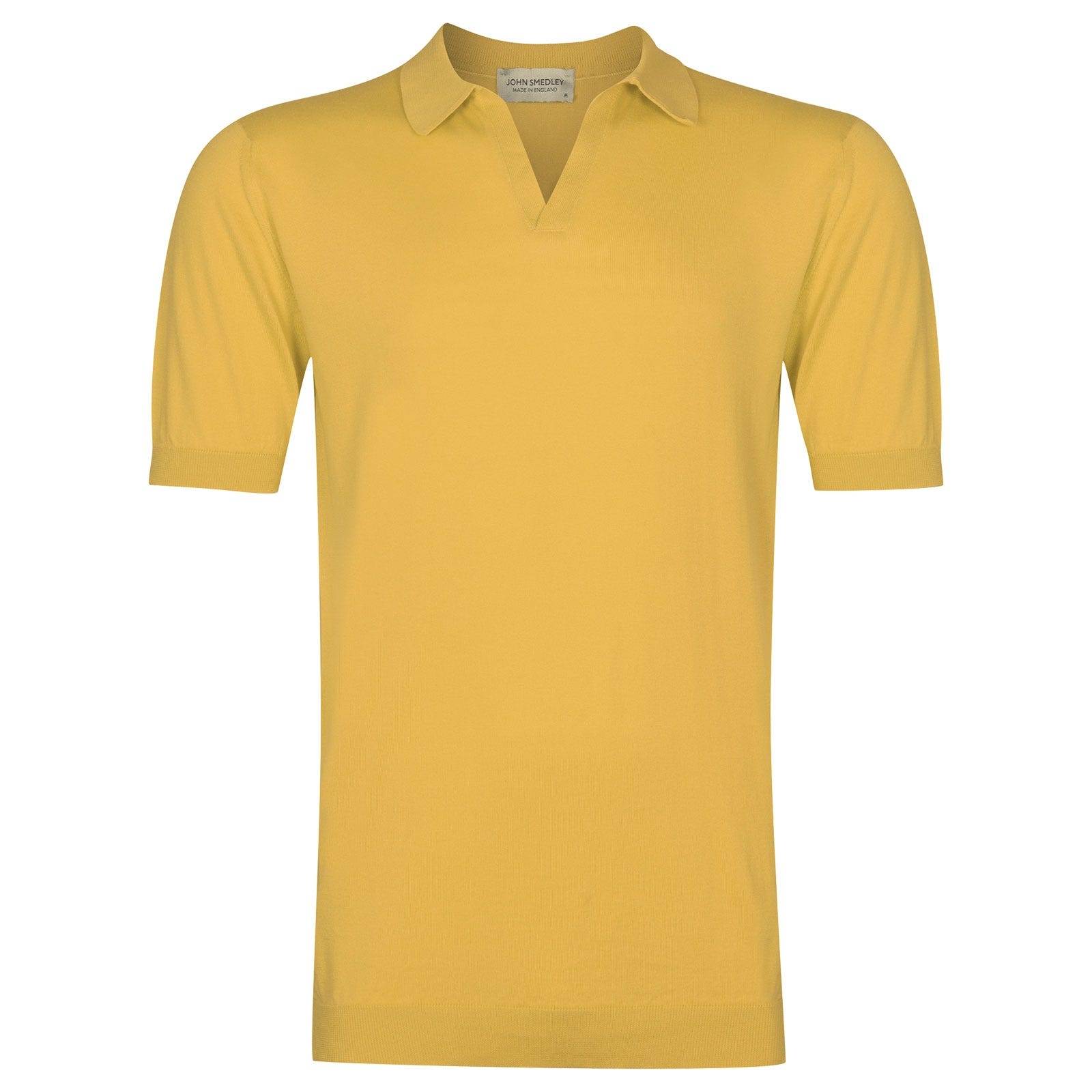 John Smedley Noah in Yellow Bloom Shirt-SML