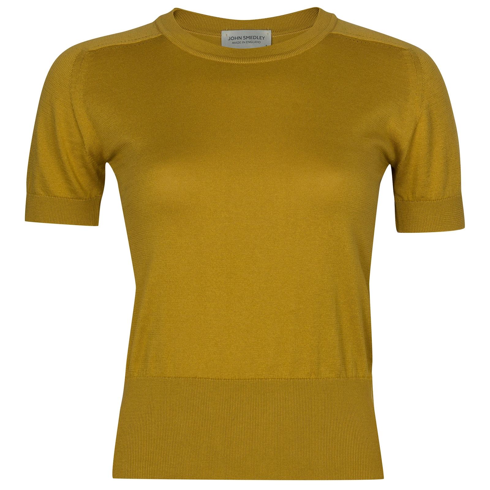 John Smedley Novia in Stamen Yellow Sweater-SML