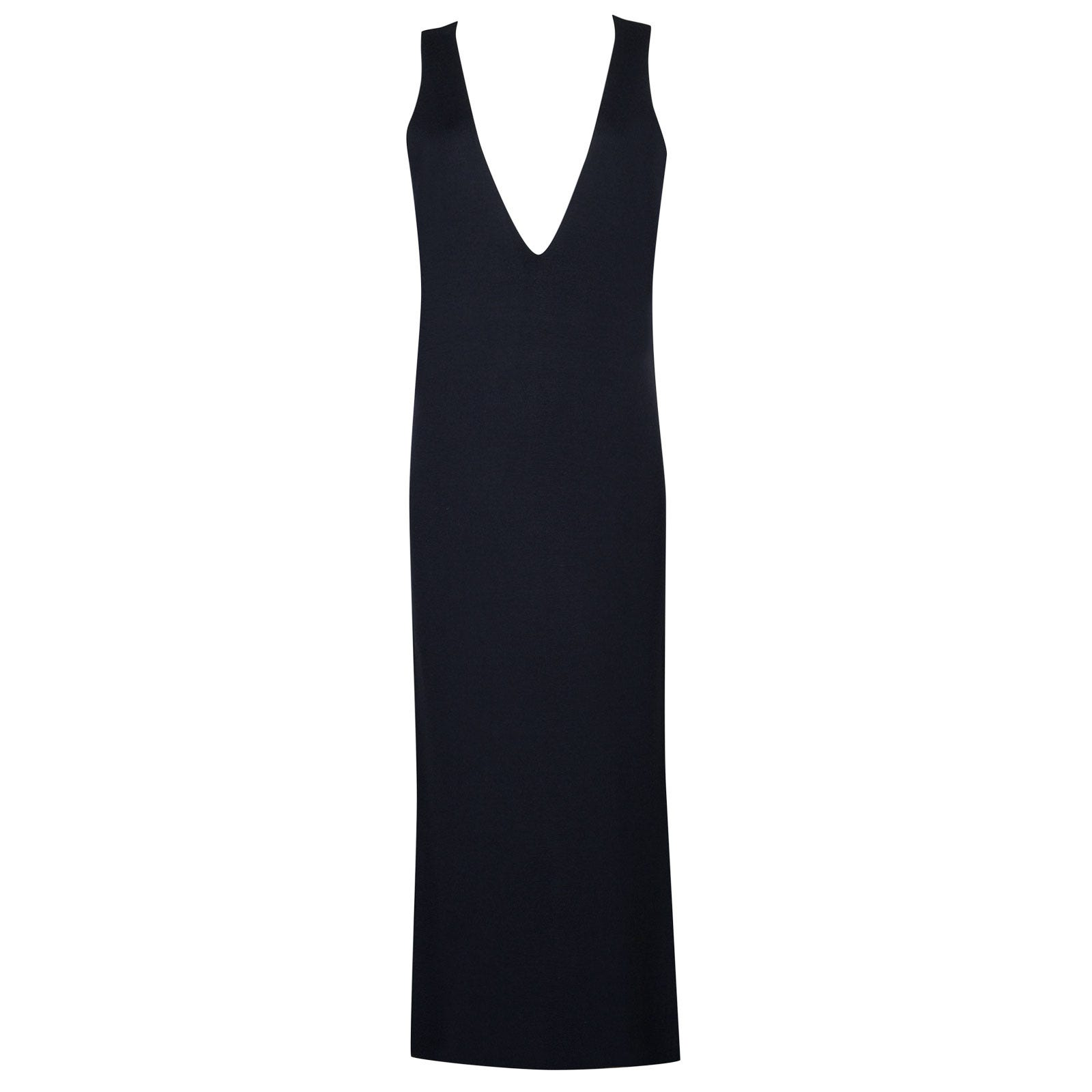 John Smedley Odell Merino Wool Dress in Midnight-L