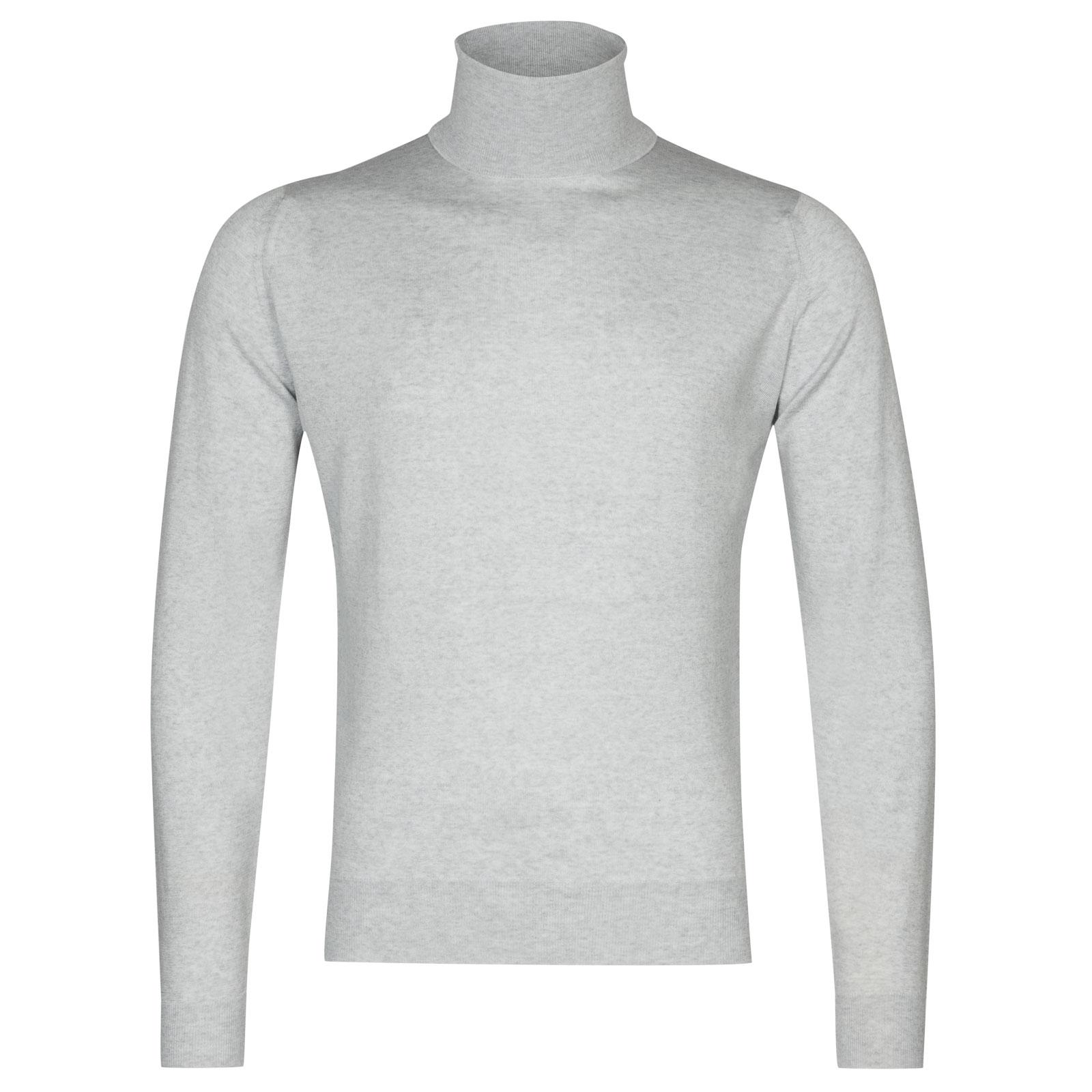 John Smedley Orta Merino Wool Pullover in Bardot Grey-L