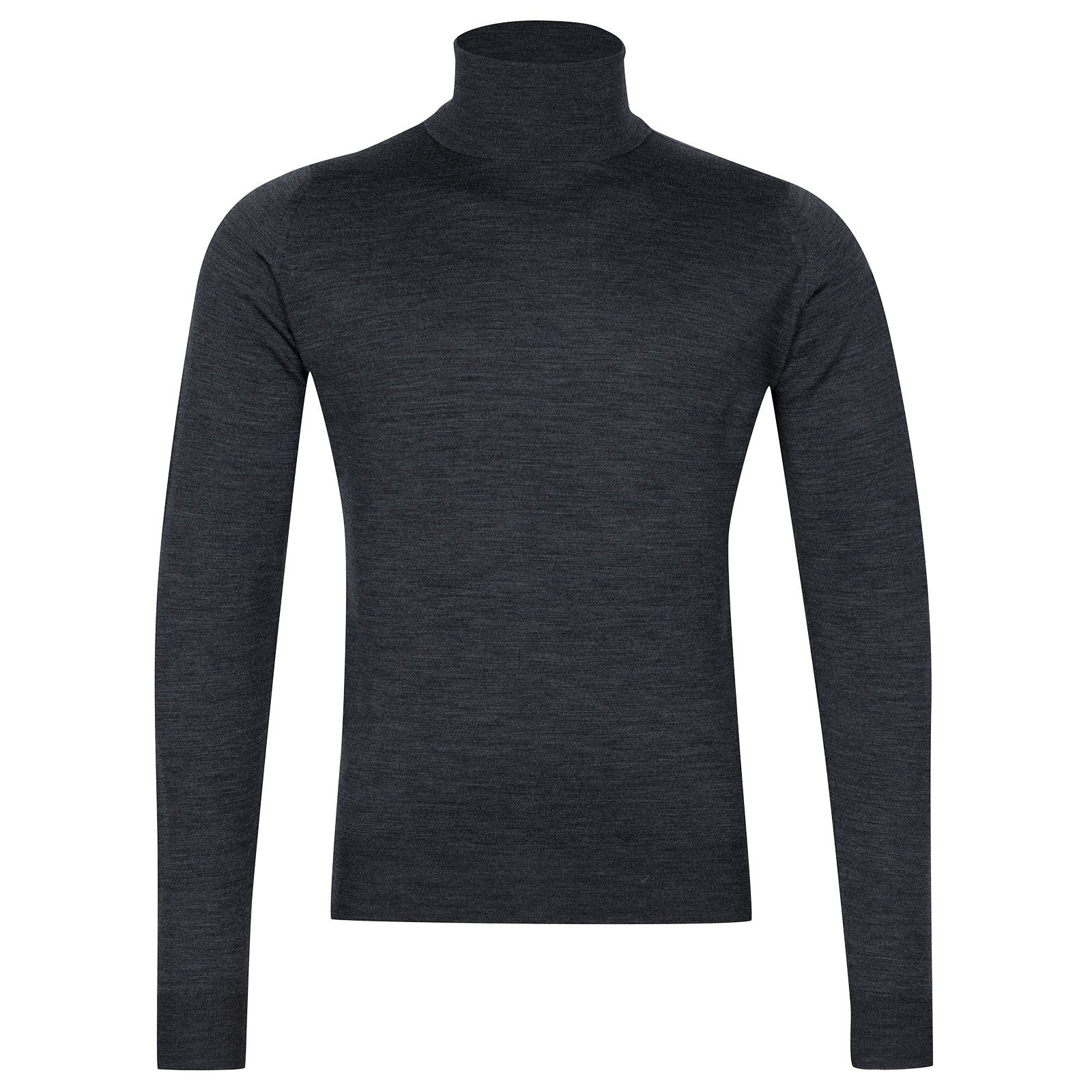 John Smedley Orta Merino Wool Pullover in Charcoal-S