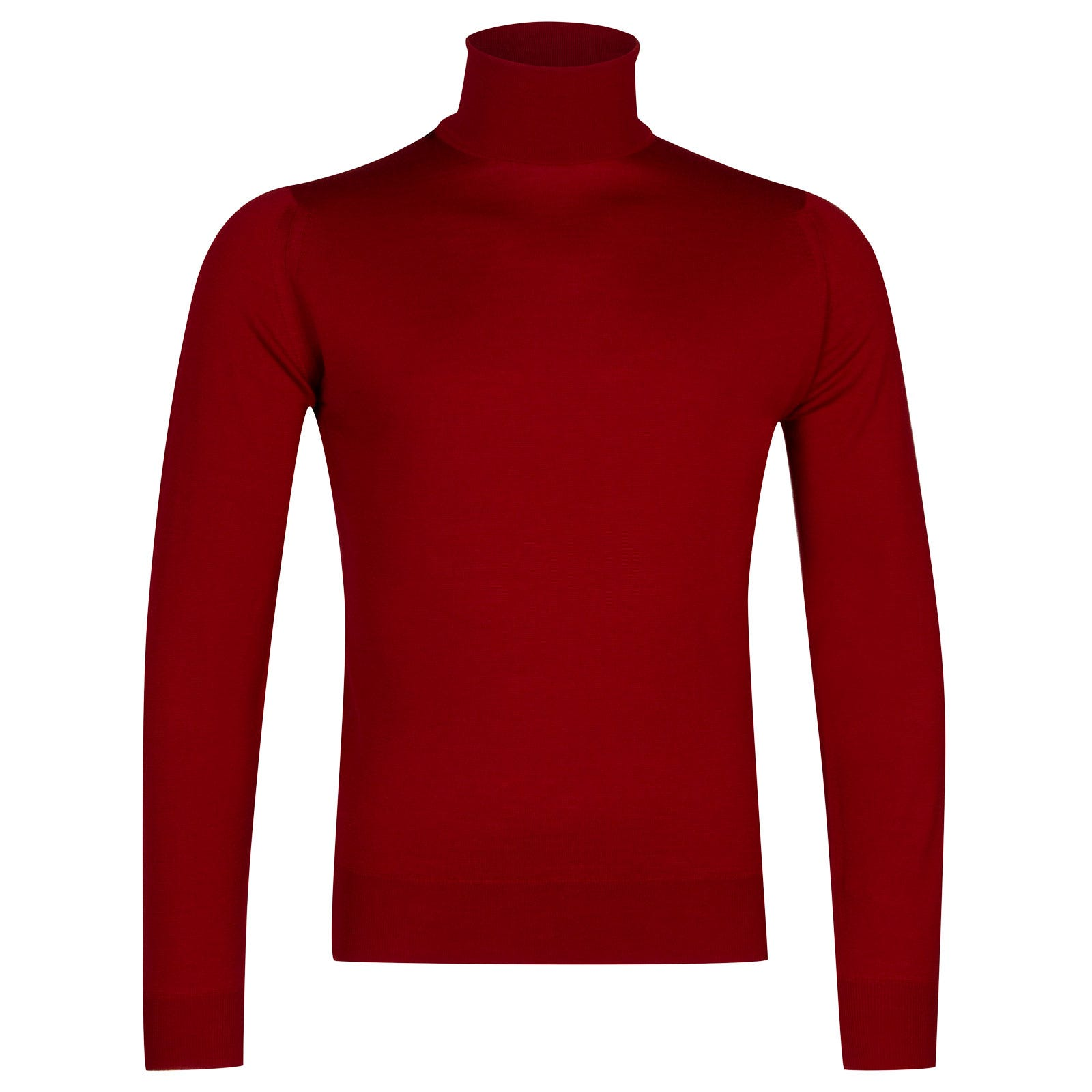 John Smedley Orta Merino Wool Pullover in Crimson Forest-L