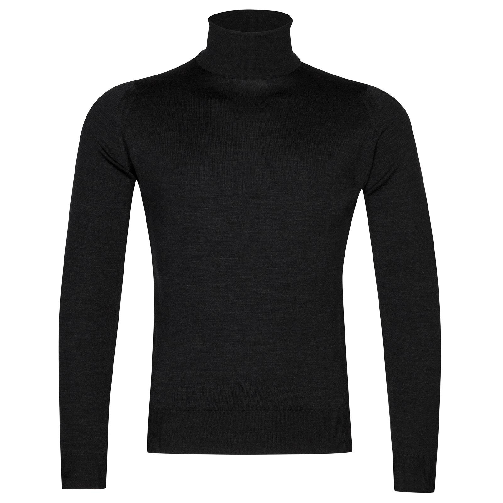 John Smedley Orta Merino Wool Pullover in Hepburn Smoke-XL