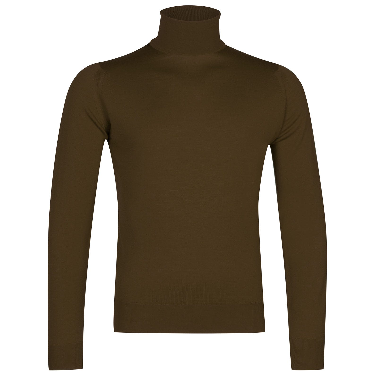 John Smedley Orta Merino Wool Pullover in Kielder Green-XXL