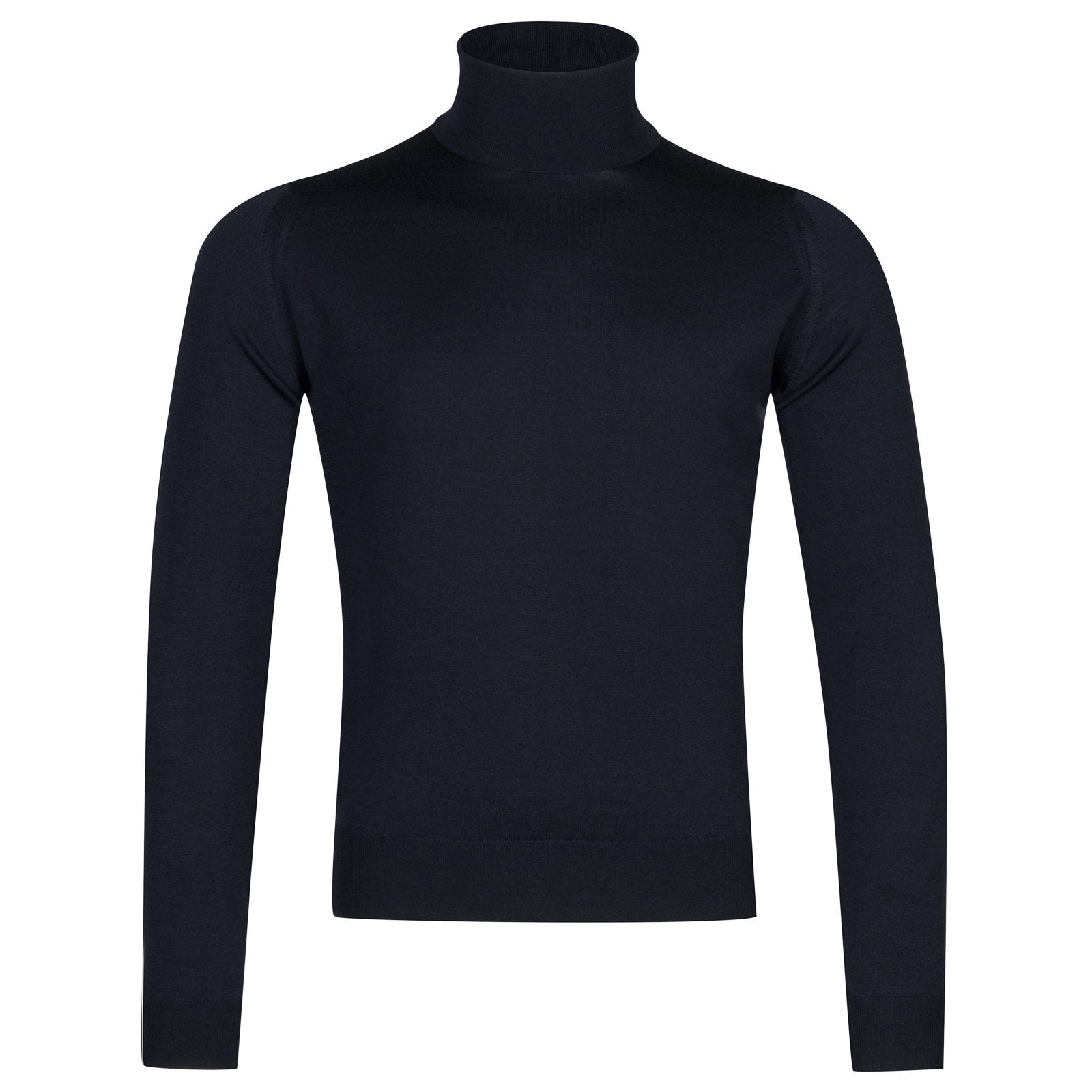 John Smedley Orta Merino Wool Pullover in Midnight-XL