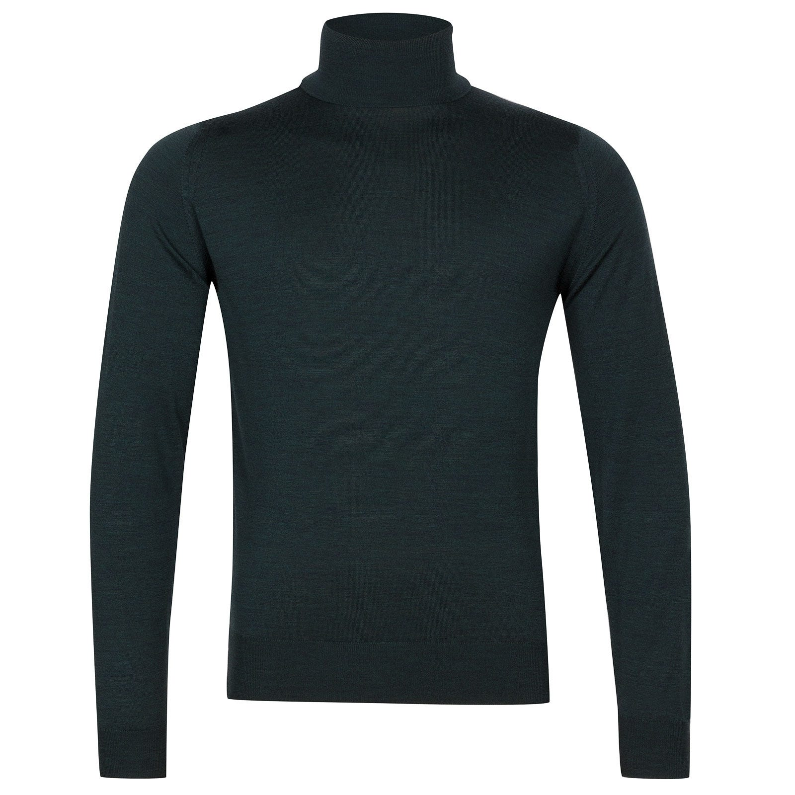 John Smedley Orta Merino Wool Pullover in Racing Green-L