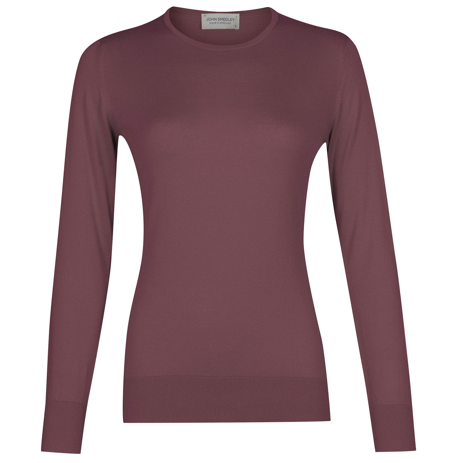 John Smedley Paddington in Brassica Purple Sweater-XLG