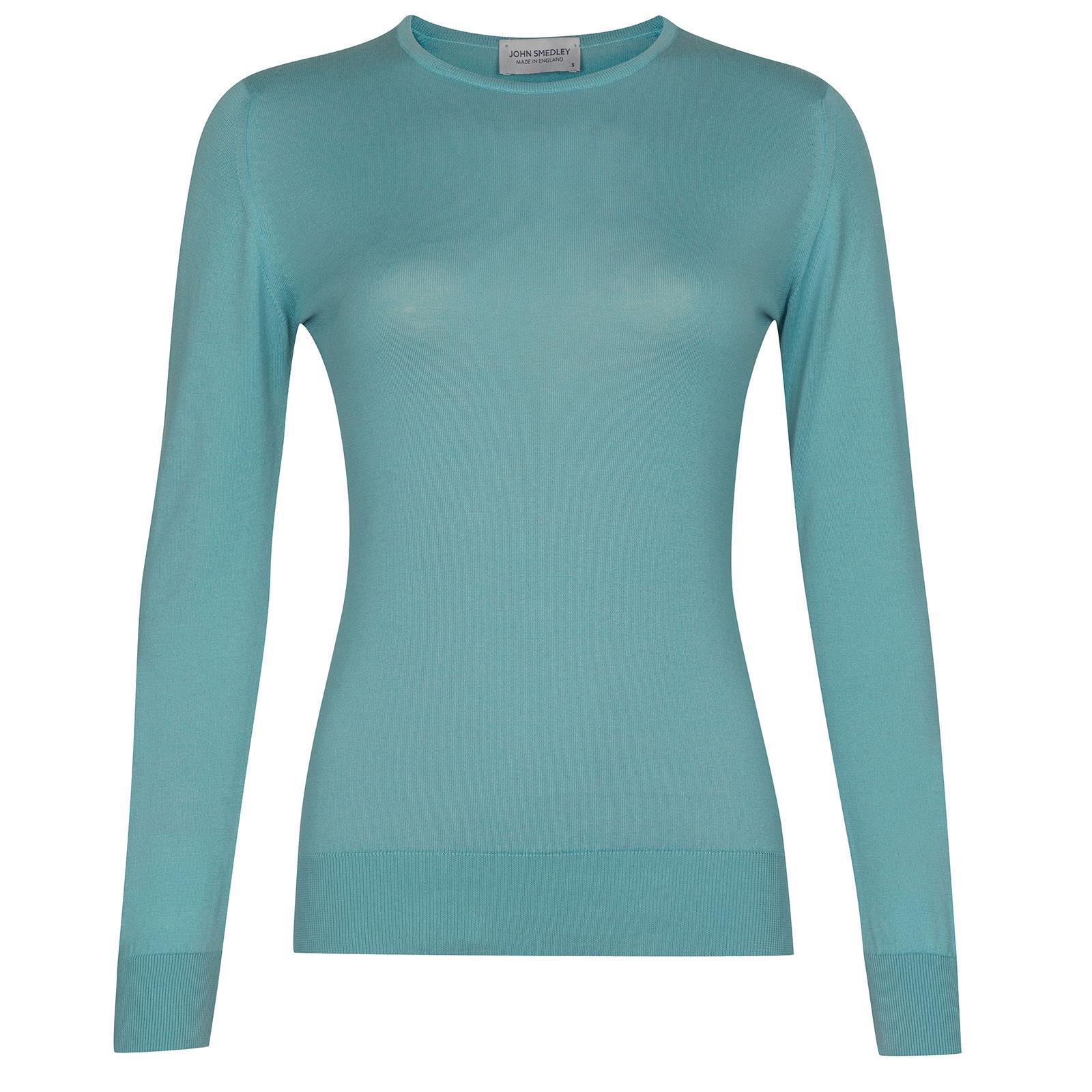 John Smedley Paddington in Empyrean Blue Sweater-XLG