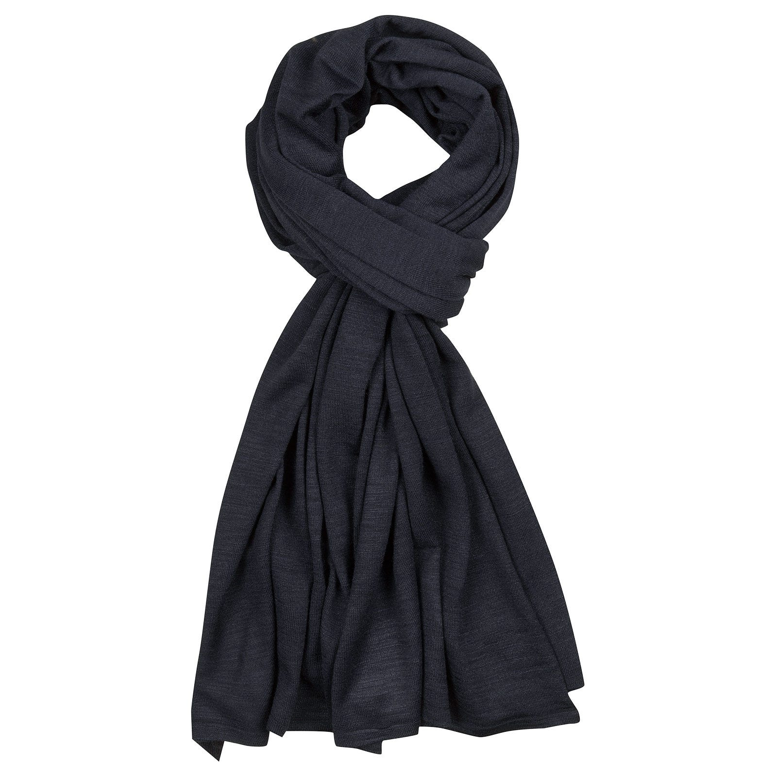 John Smedley Palm in Midnight Shawl-ONE