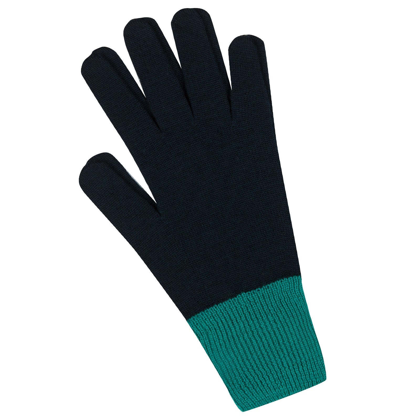 John Smedley Pasteur Merino Wool Gloves in Orion Green-s/m