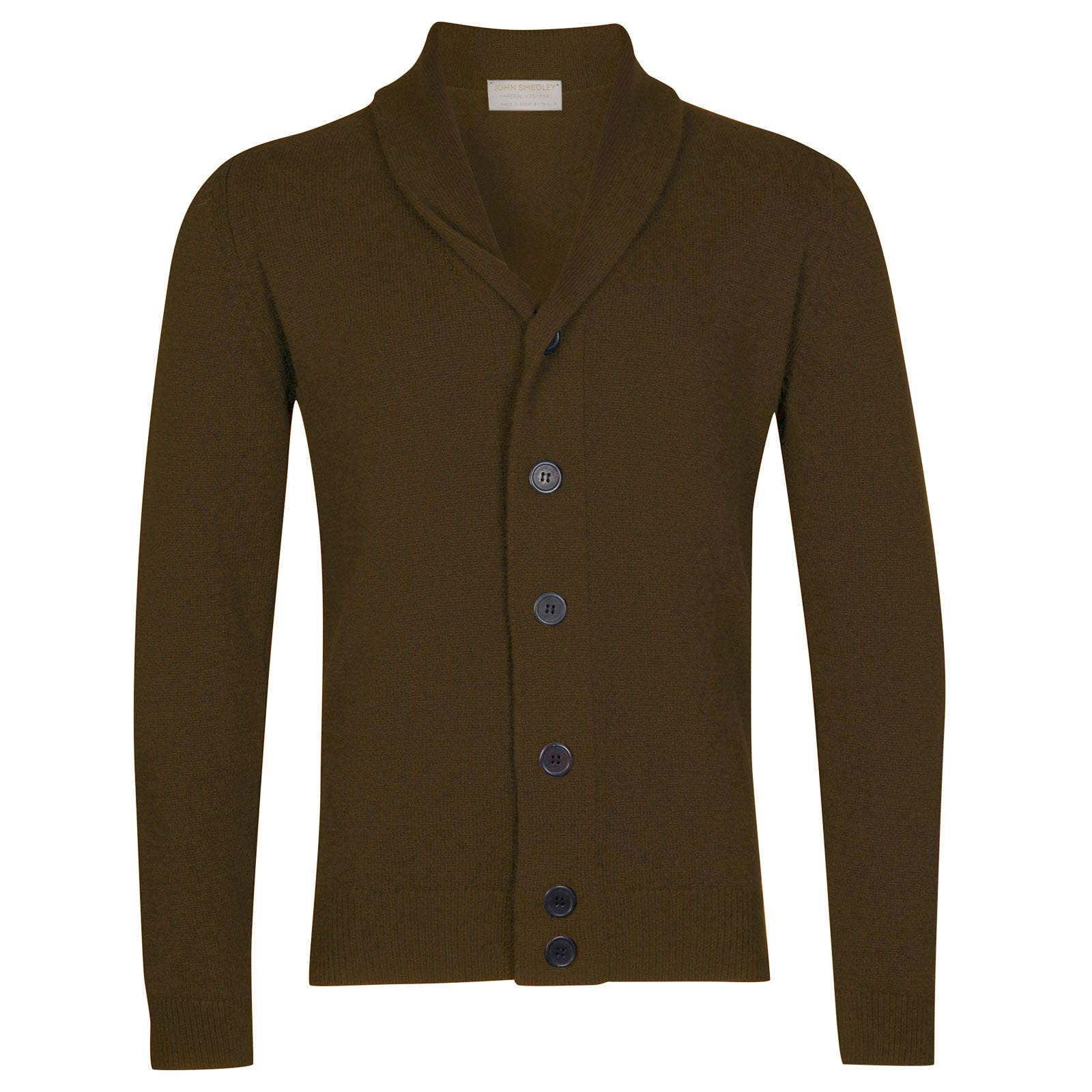 John Smedley patterson Wool and Cashmere Jacket in Kielder Green-S