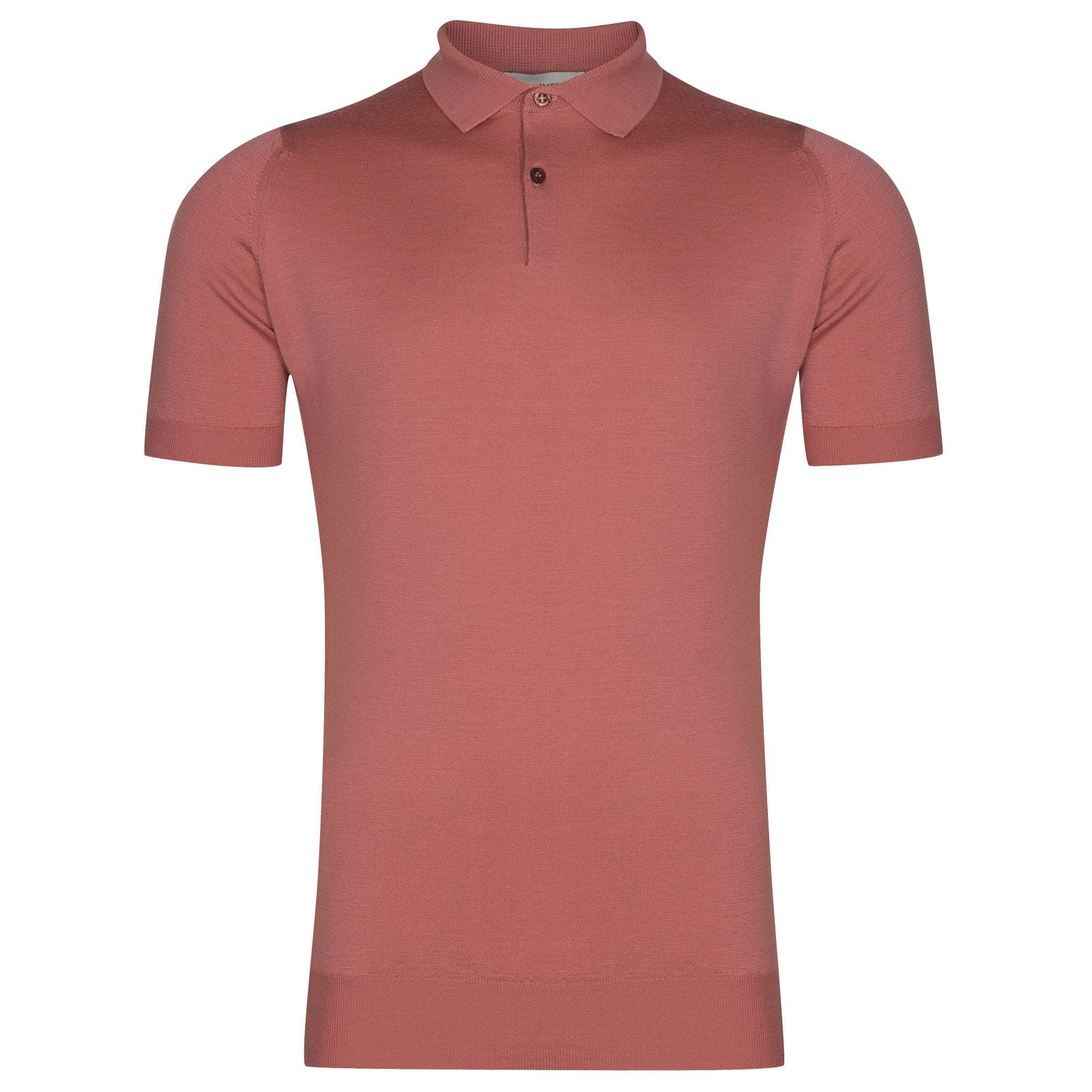 John Smedley Payton in Azalea Pink Shirt-LGE