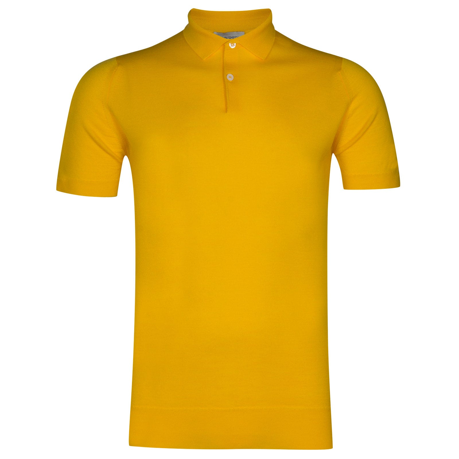 John Smedley payton Merino Wool Shirt in Meadow Yellow-L