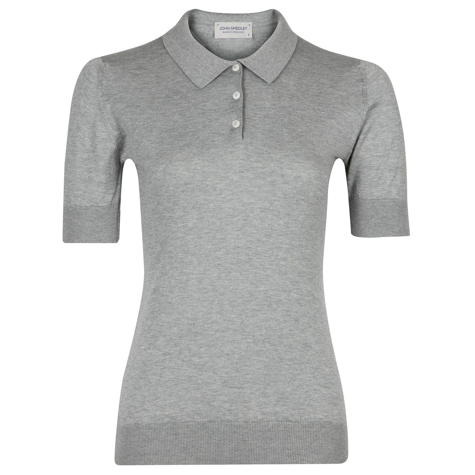 John Smedley Picnic in Silver Shirt-MED