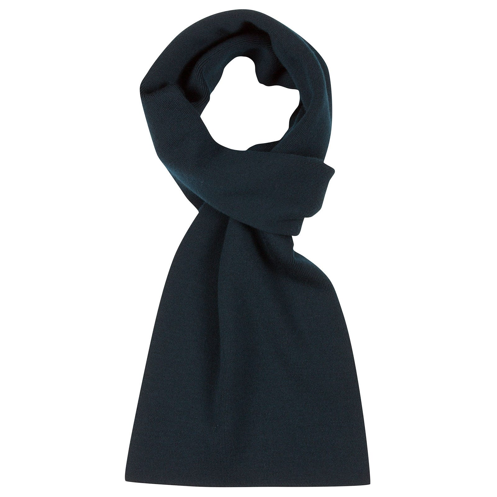 John Smedley pintail Merino Wool Scarf in Orion Green-ONE