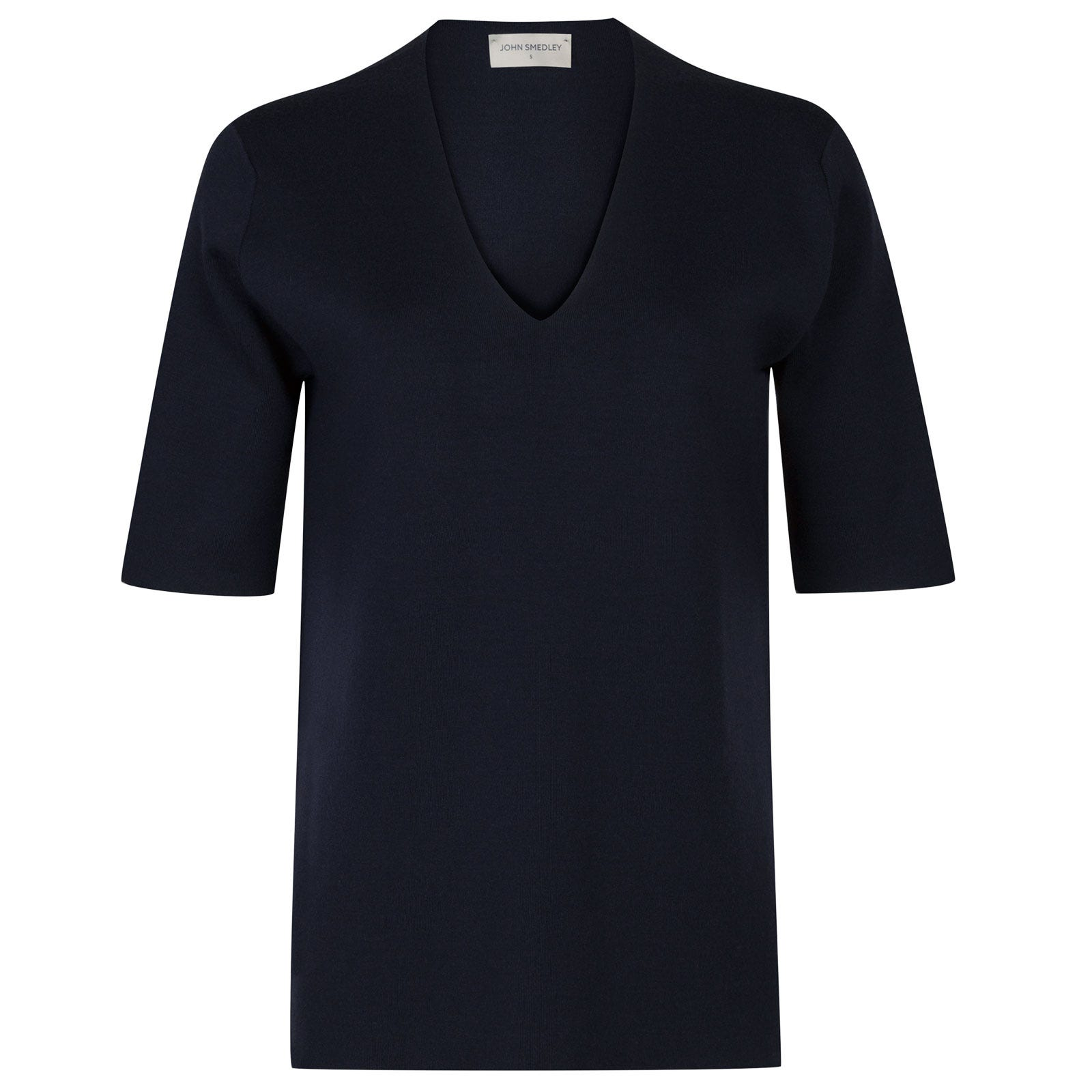 John Smedley purcell Merino Wool Sweater in Midnight-M
