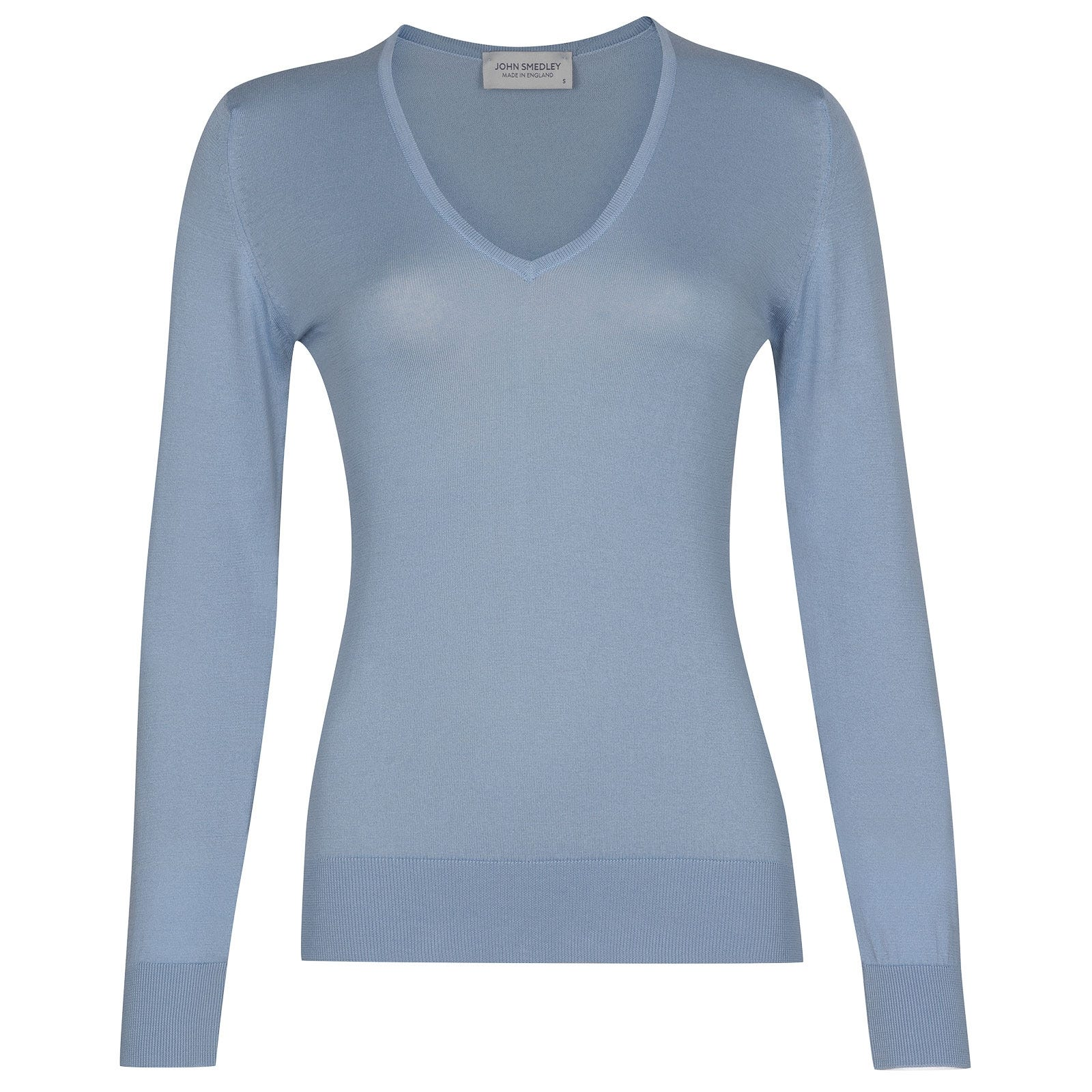 John Smedley Putney in Dusk Blue Sweater-XLG