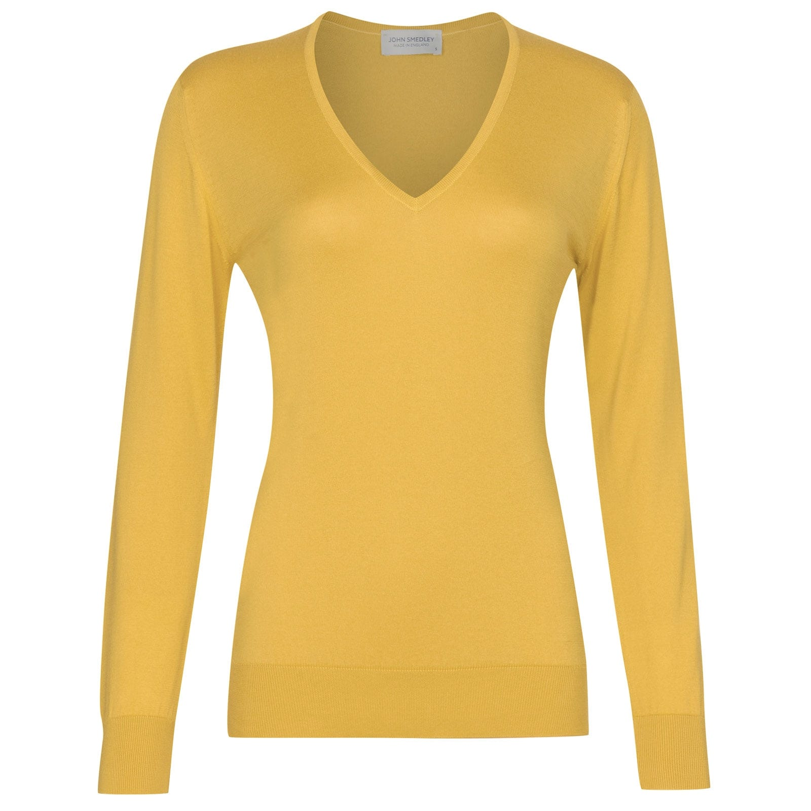 John Smedley Putney in Yellow Bloom Sweater-XLG